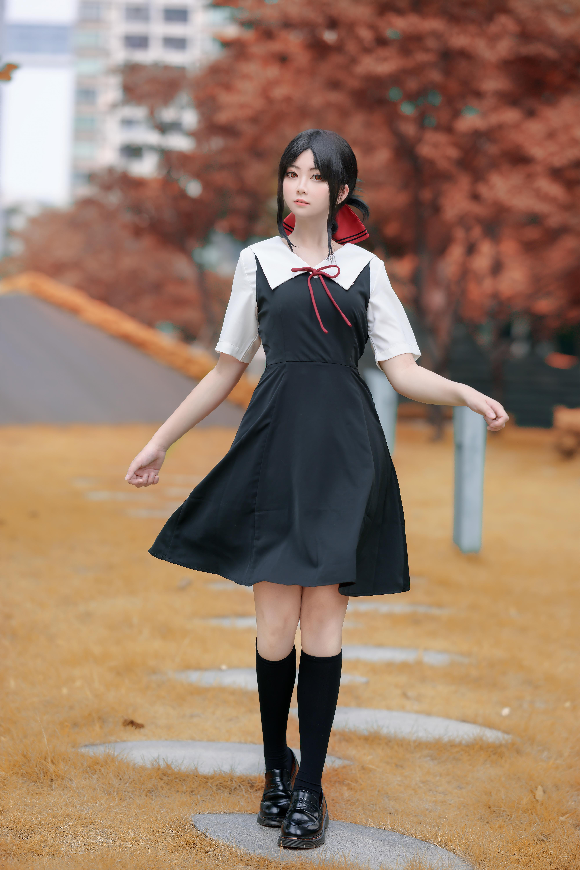 《辉夜大小姐想让我告白》漫展cosplay【CN:千代紙Stella】-第5张