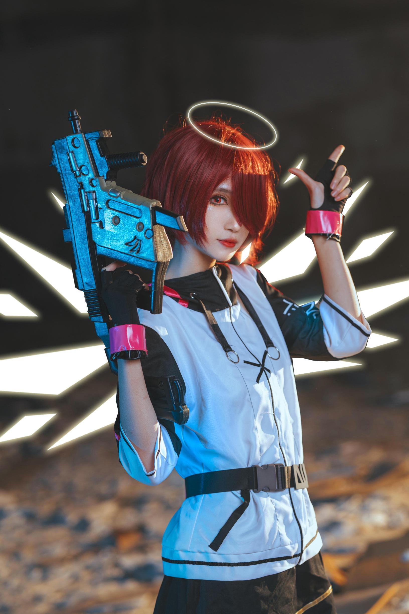 《明日方舟》正片cosplay【CN:妖君白研】-第8张