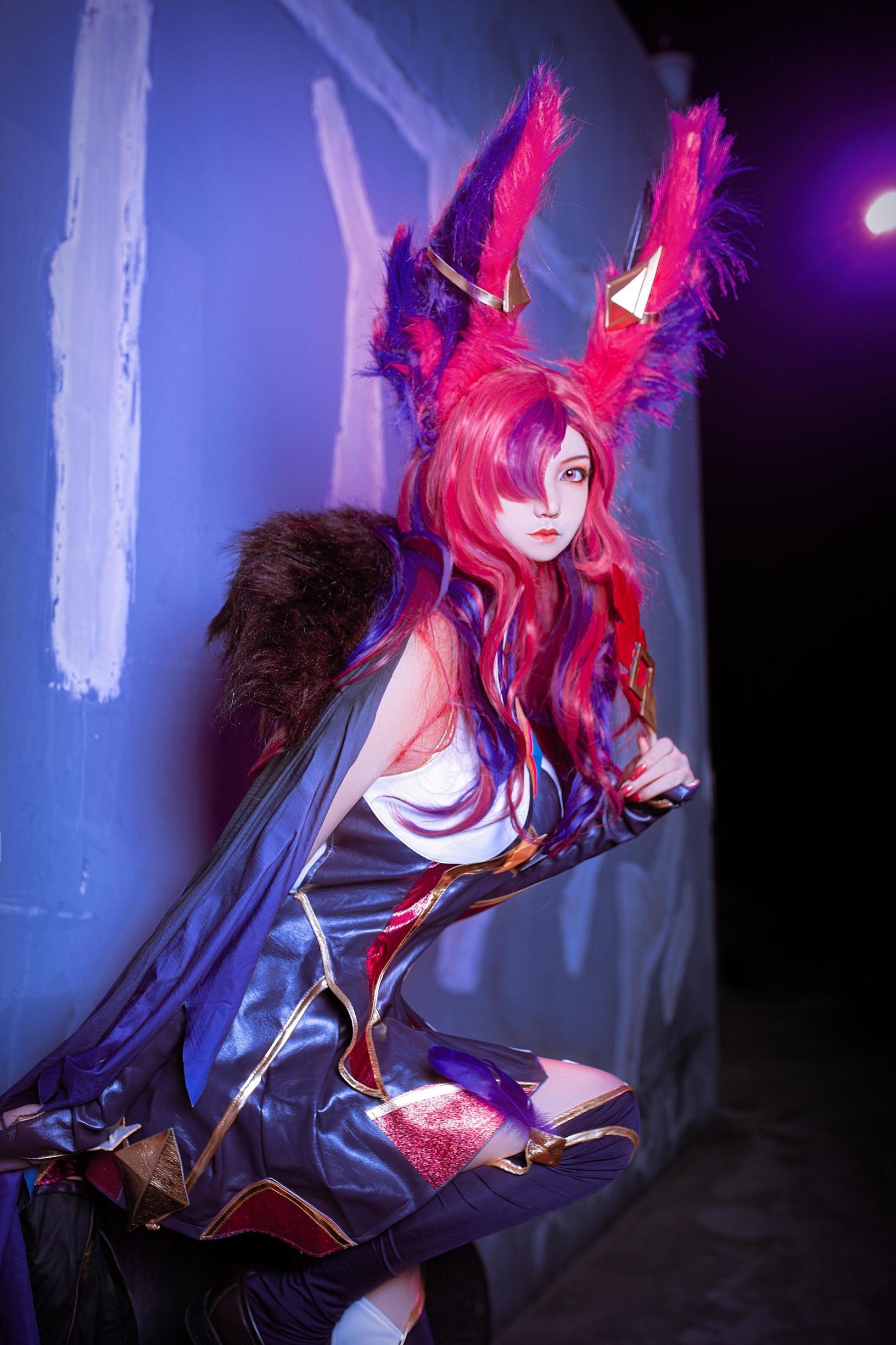《英雄联盟》星之守护者cosplay【CN:一只超级懒的沐恩】-第5张