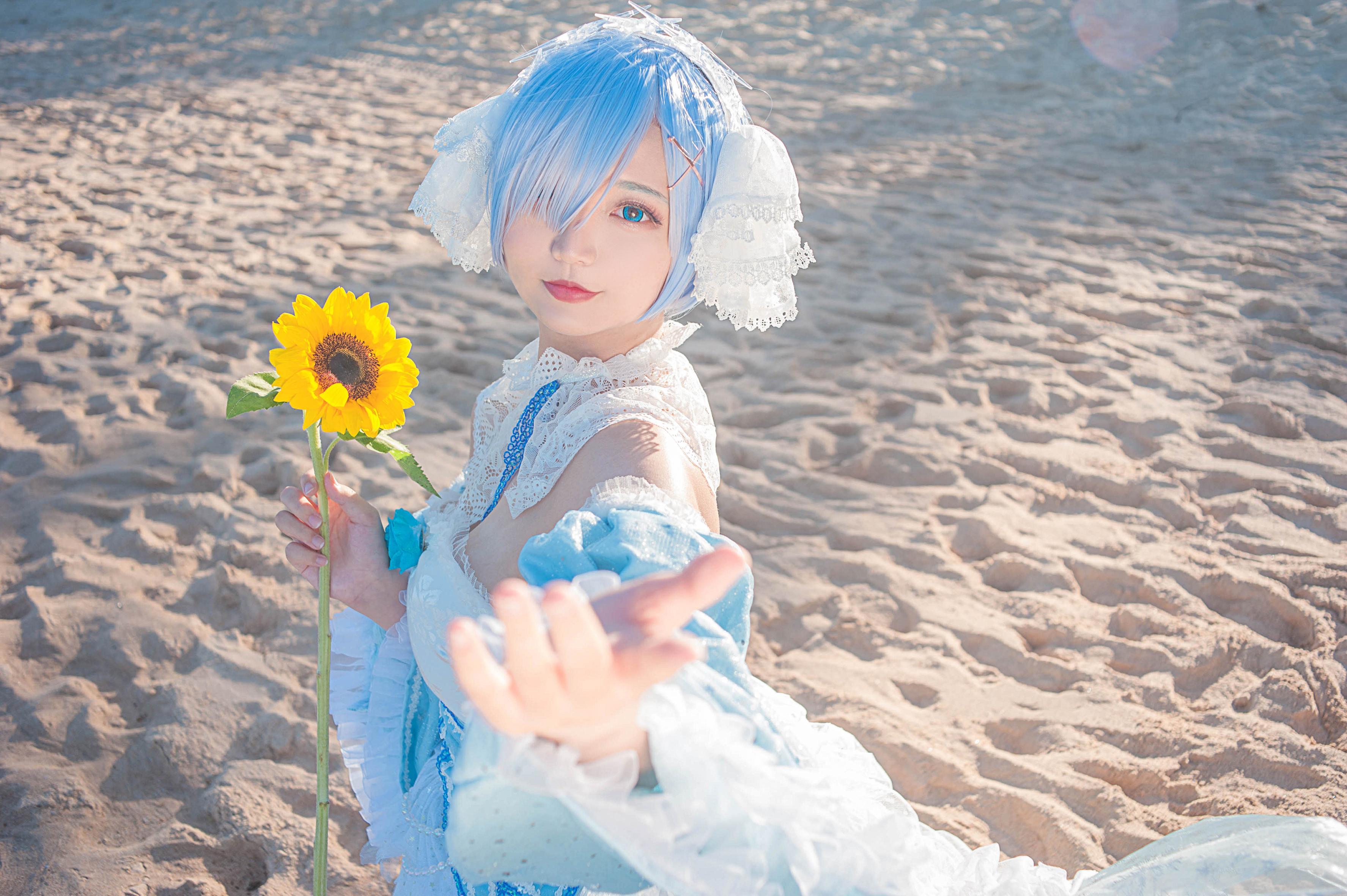 《RE:从零开始的异世界生活》从零开始的异世界生活蕾姆cosplay【CN:Kyuu_九笛】-第7张