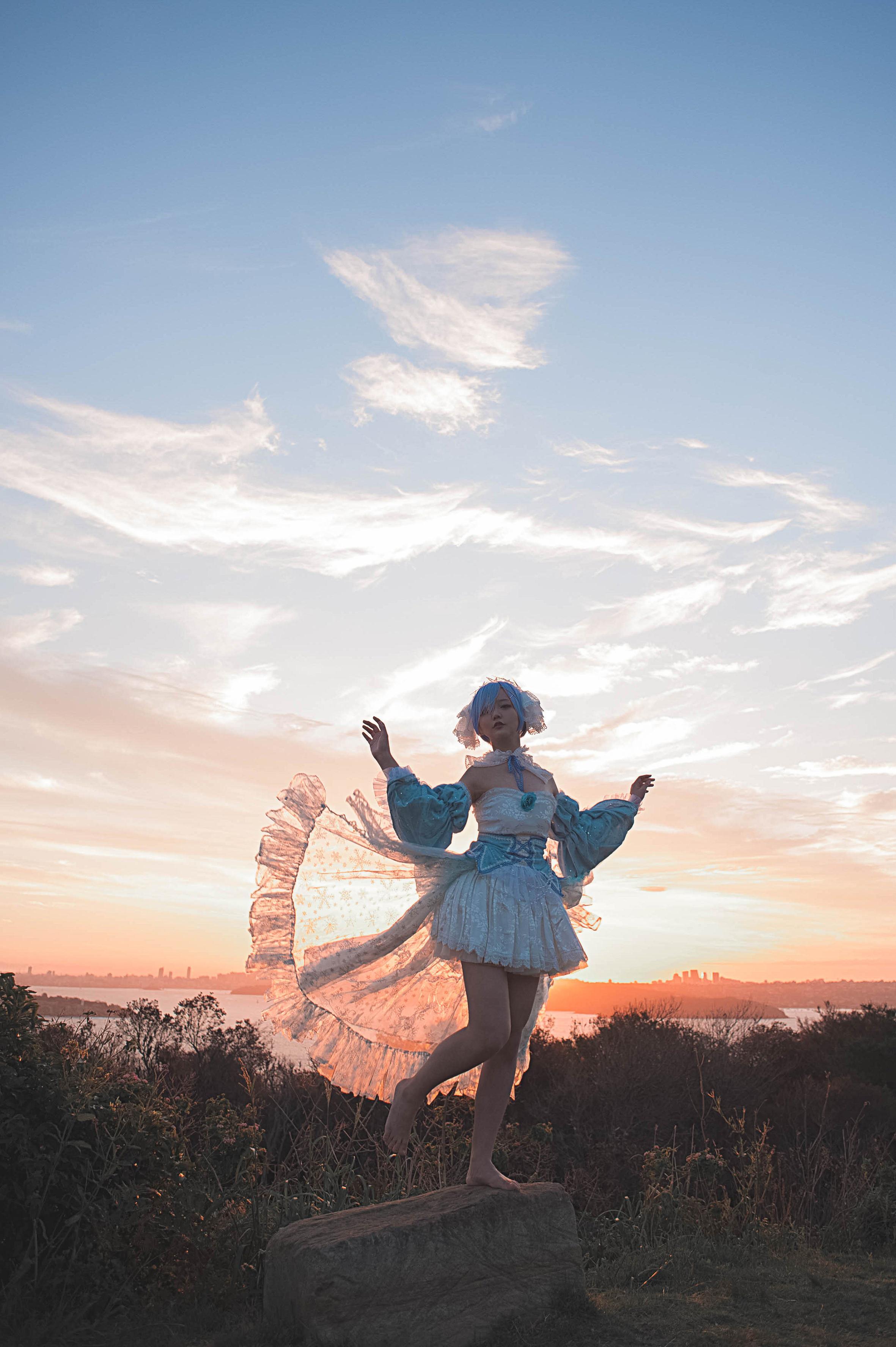 《RE:从零开始的异世界生活》从零开始的异世界生活蕾姆cosplay【CN:Kyuu_九笛】-第9张