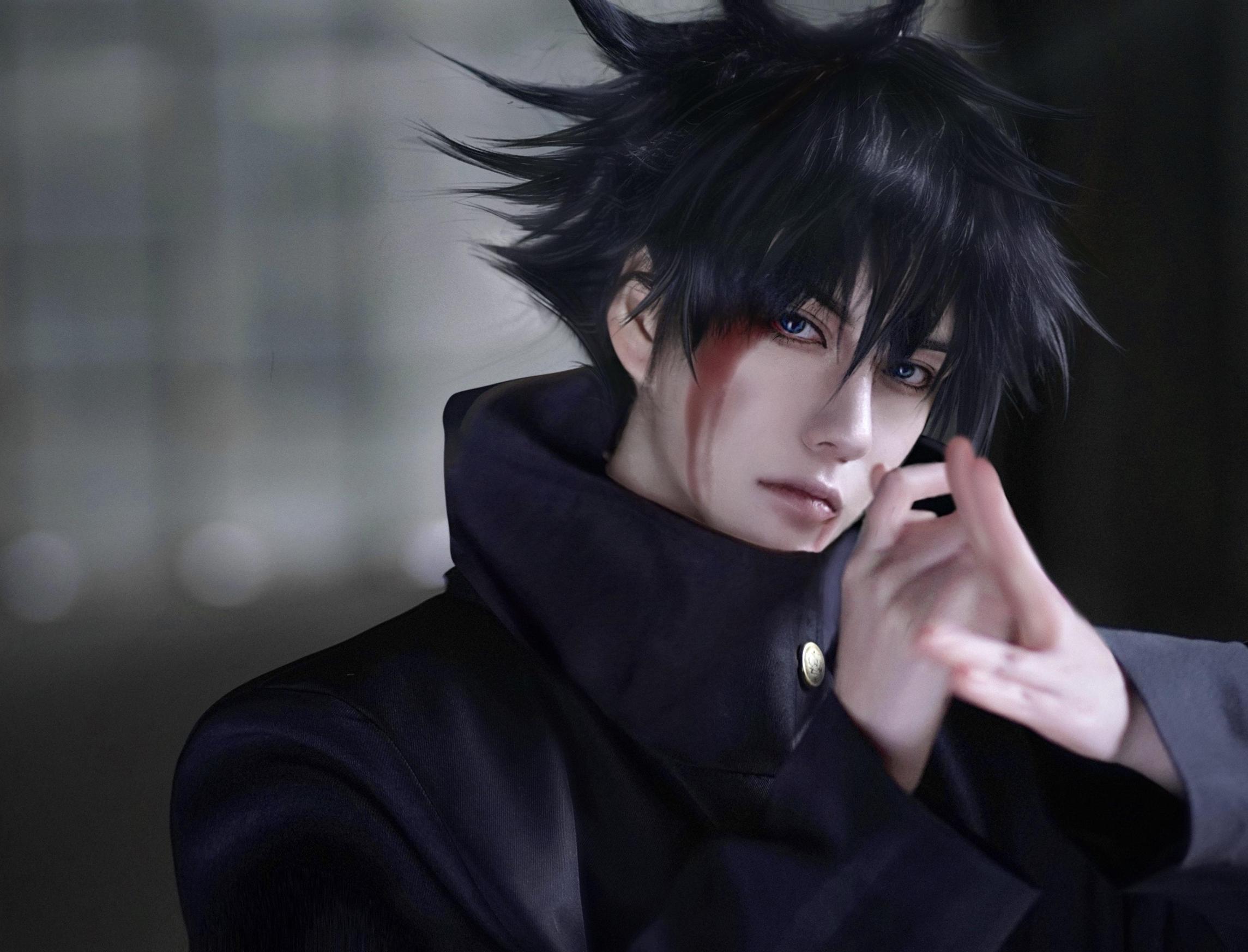 《咒术回战》陆鹫贰黑cosplay-第3张