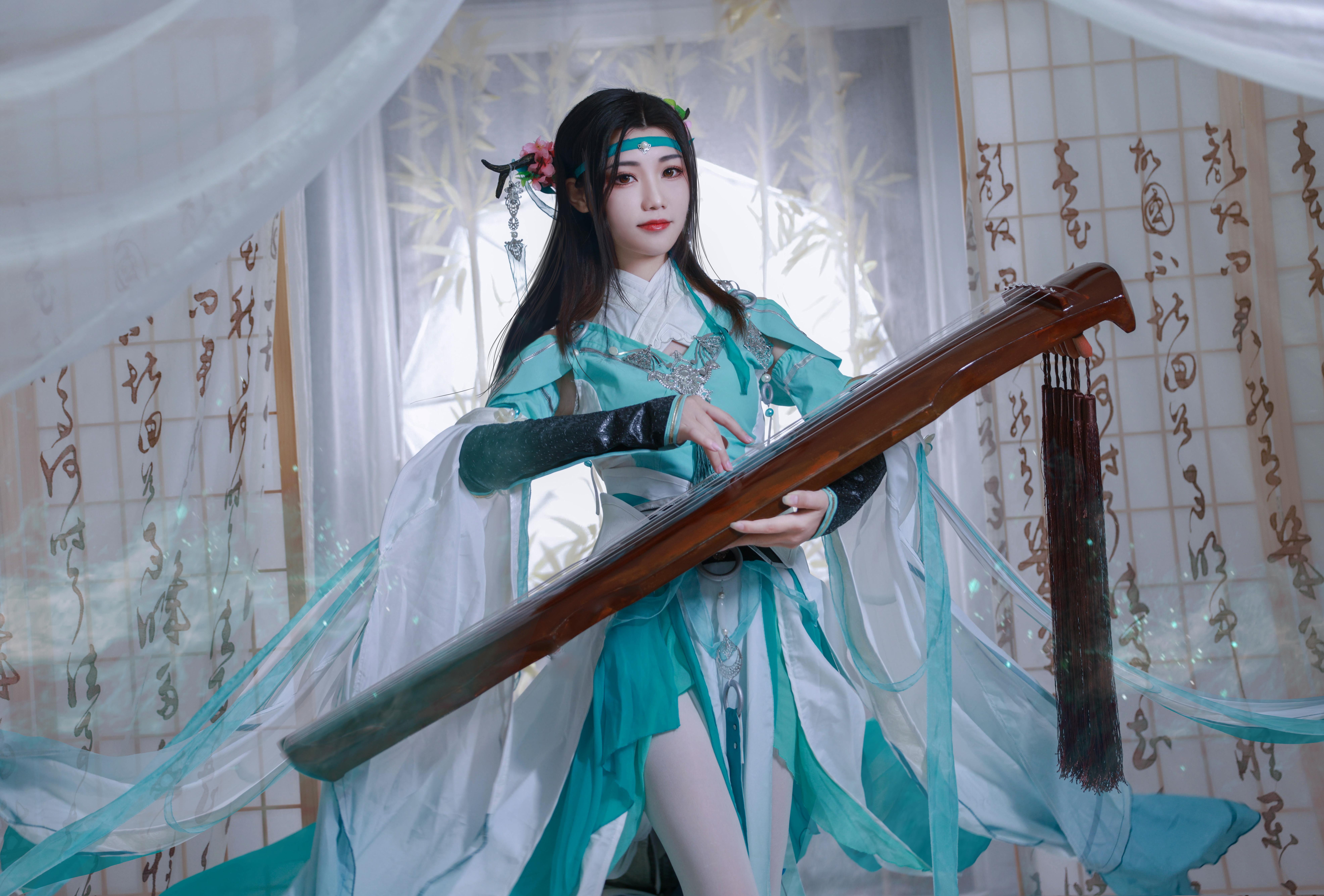 《剑侠情缘网络版叁》长歌琴娘cosplay【CN:川泽梦鲤】-第6张