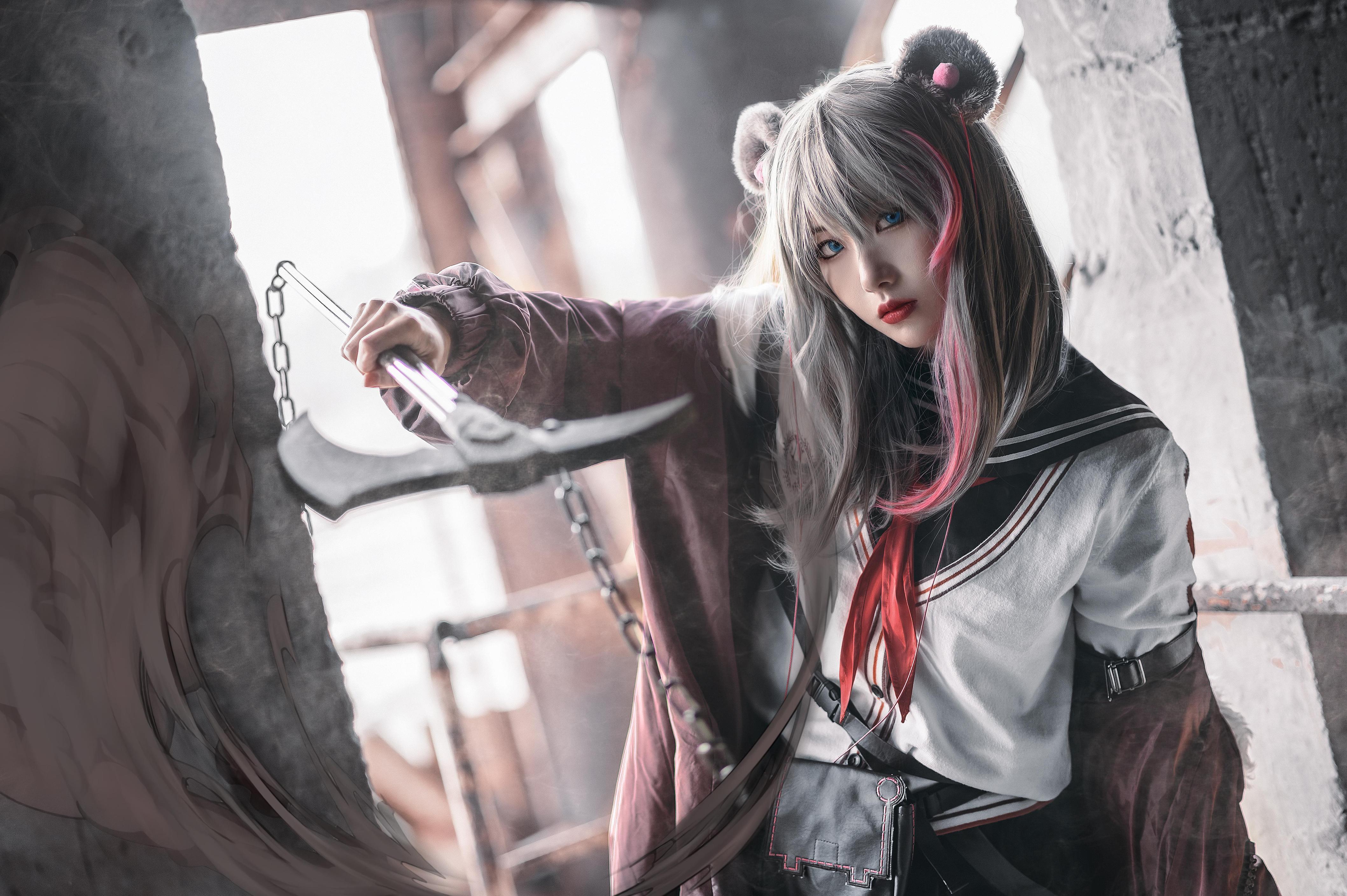 《明日方舟》正片cosplay【CN:小青姑娘闭关修炼中】-第9张