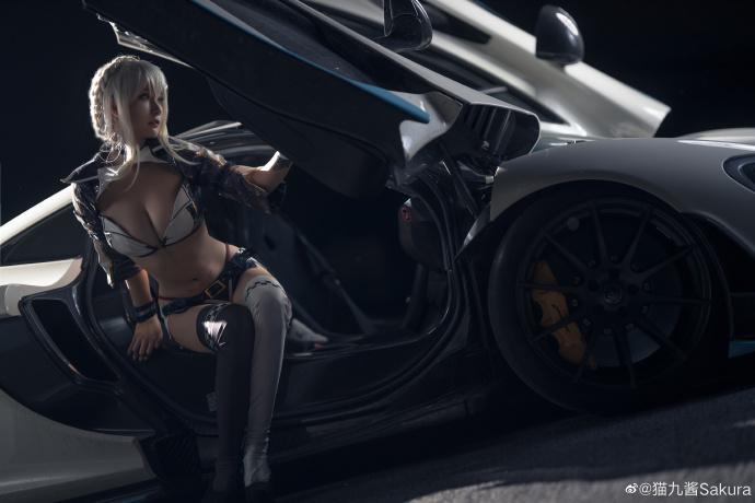[COS]FGO   阿尔托莉雅·潘德拉贡〔Alter〕(Lancer)   @猫九酱Sakura (9P) -女装cosplay图片插图