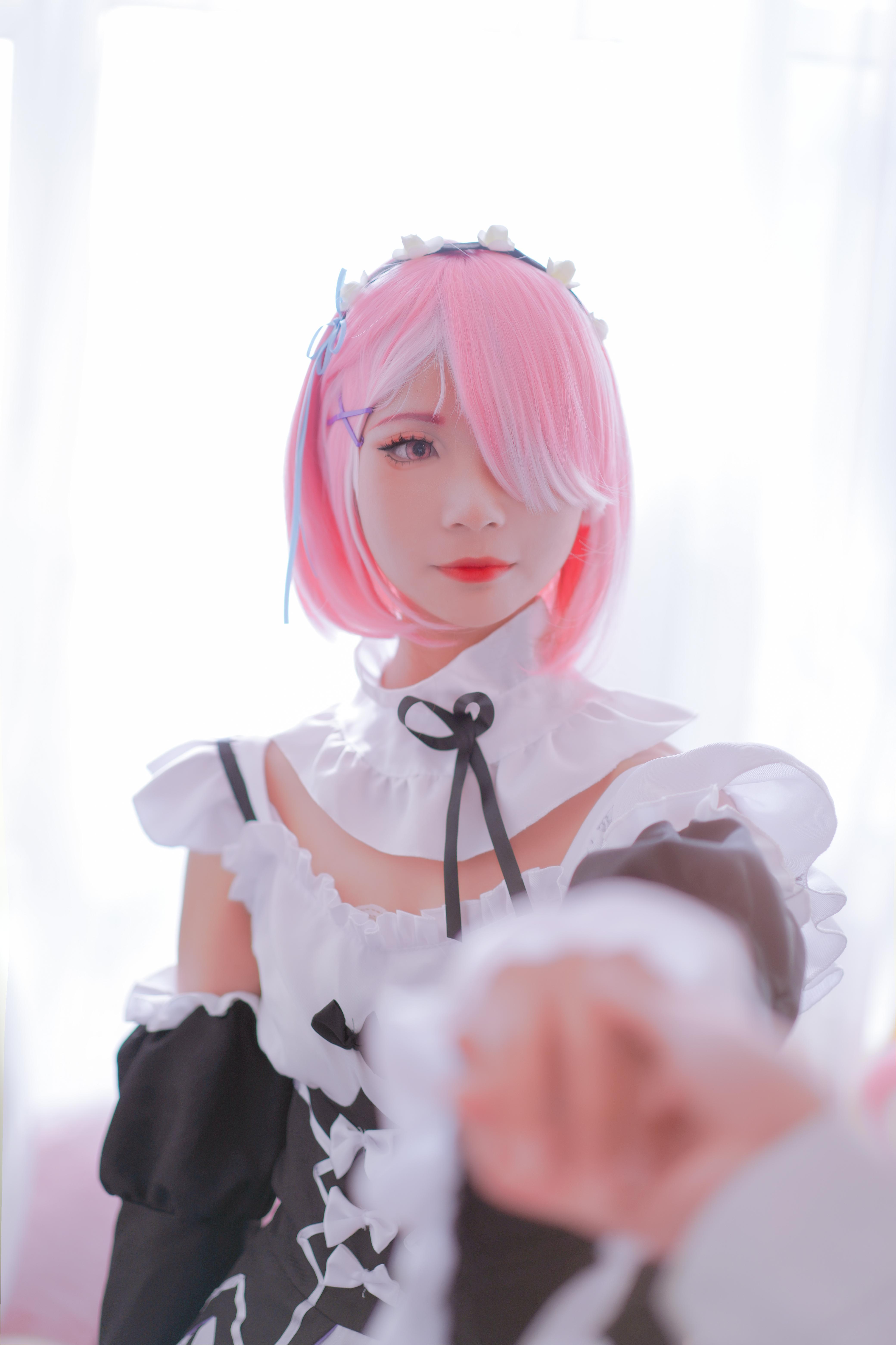 拉姆cosplay【CN:守约老婆啵酱】-第3张