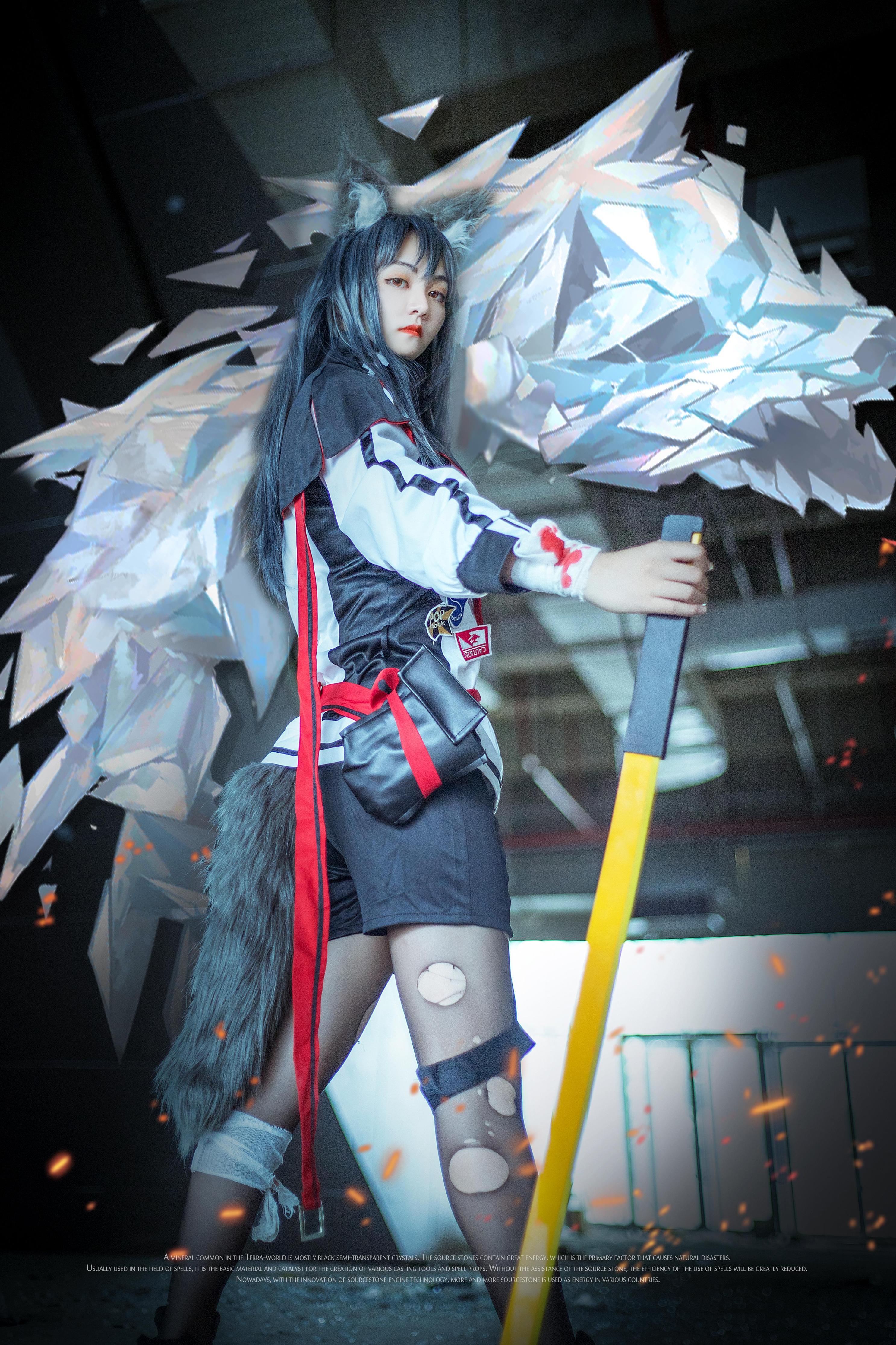 《明日方舟》约拍cosplay【CN:小怪物mask】-第12张