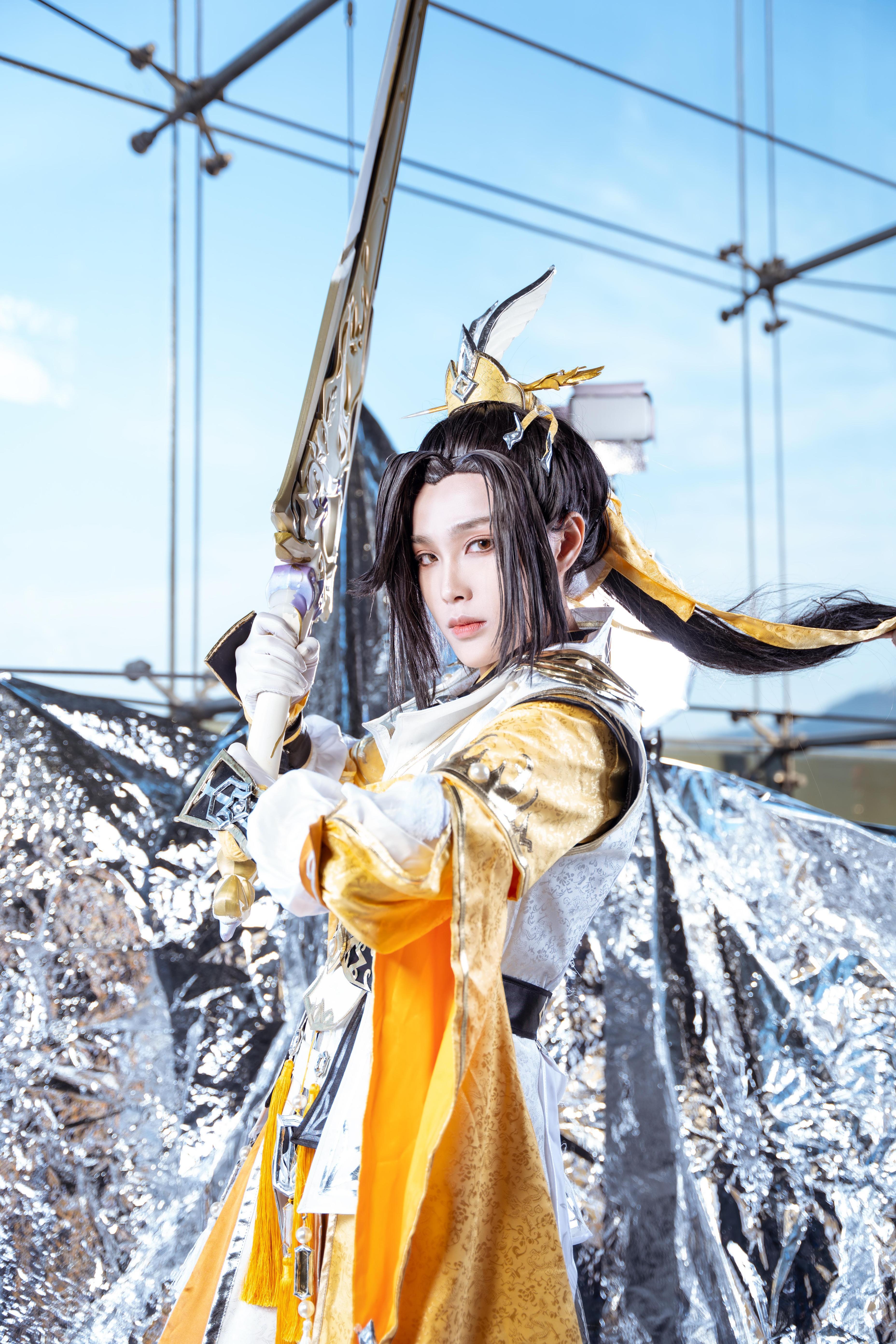 《剑侠情缘网络版叁》剑网三藏剑cosplay【CN:鹿於今天变软妹了吗】-第5张