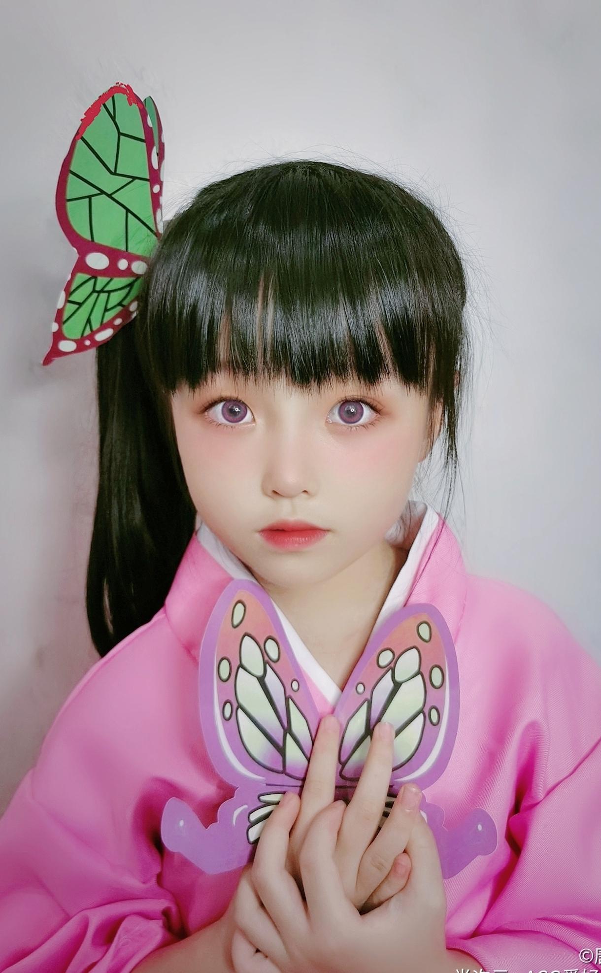 《鬼灭之刃》栗花落香奈乎cosplay【CN:猪小糖】-第6张