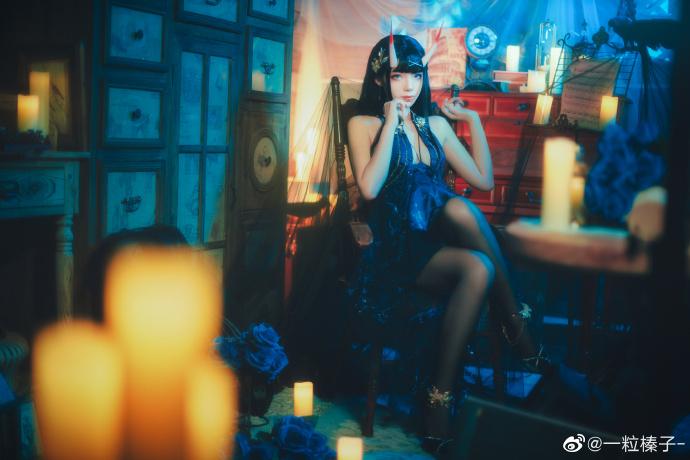 碧蓝航线   能代  礼服-夜响的绝园   @一粒榛子- (9P)-第9张