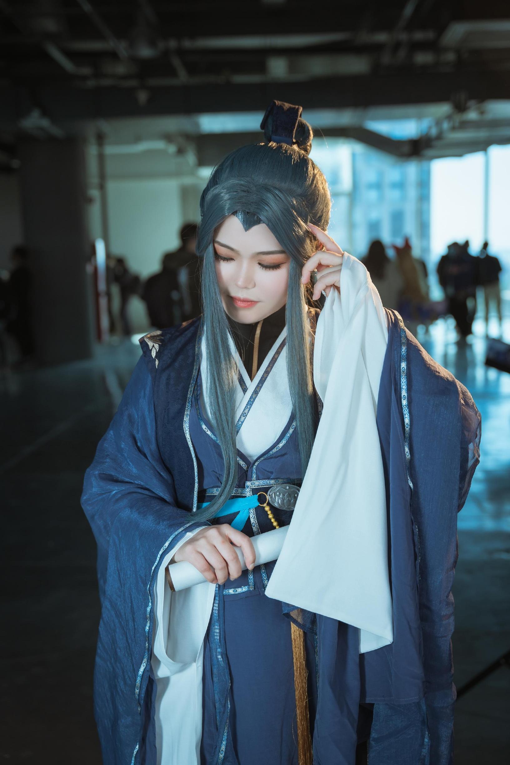 《天官赐福》墨香铜臭cosplay【CN:Yimo沫】-第4张
