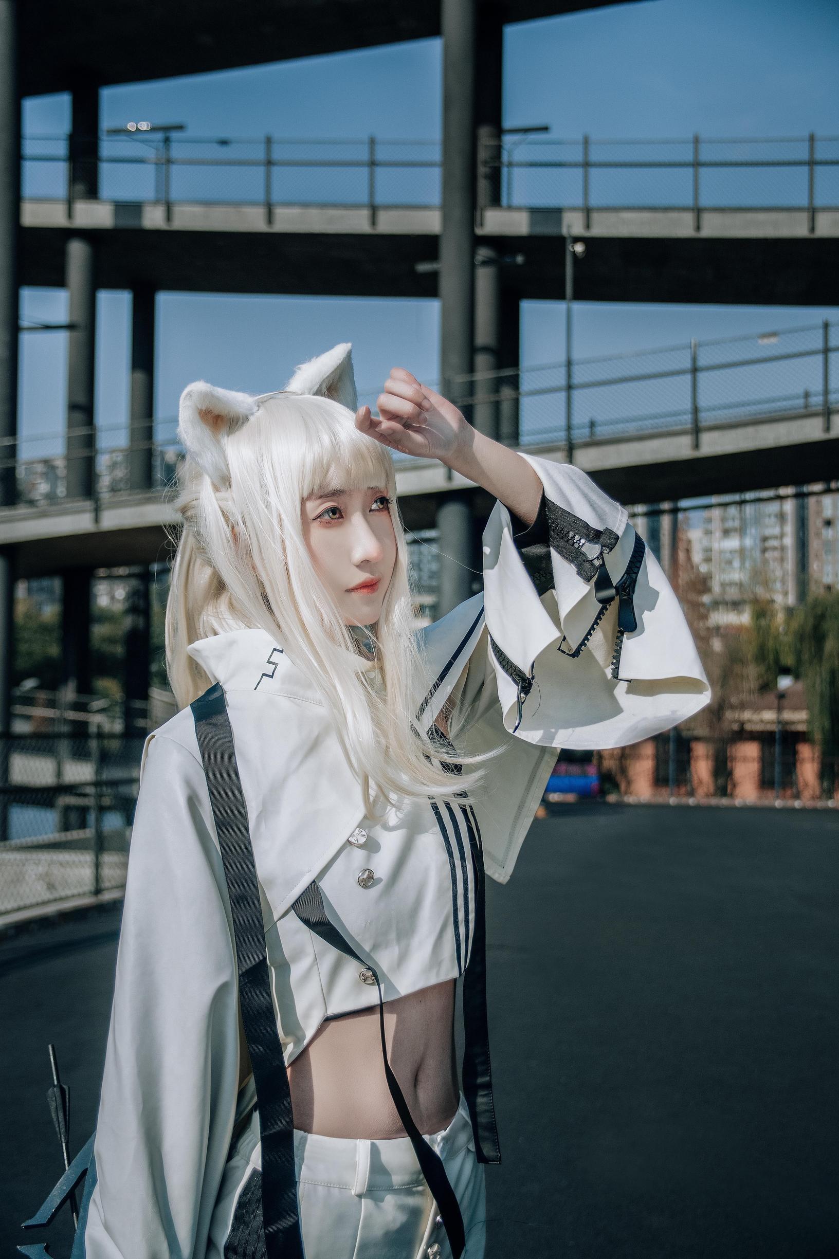 《明日方舟》正片cosplay【CN:羽咲_VedeN】-第11张