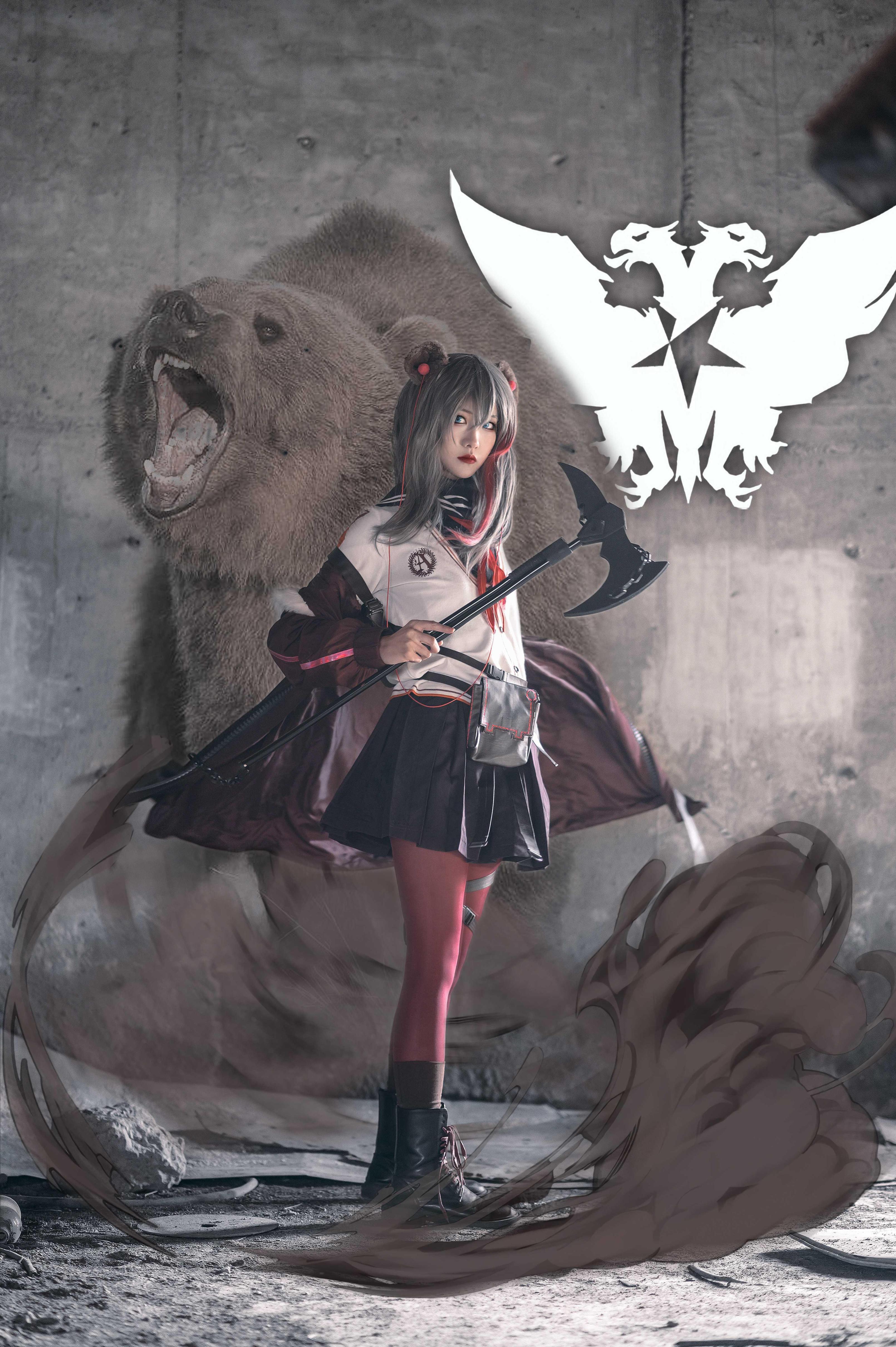 《明日方舟》正片cosplay【CN:小青姑娘闭关修炼中】-第5张