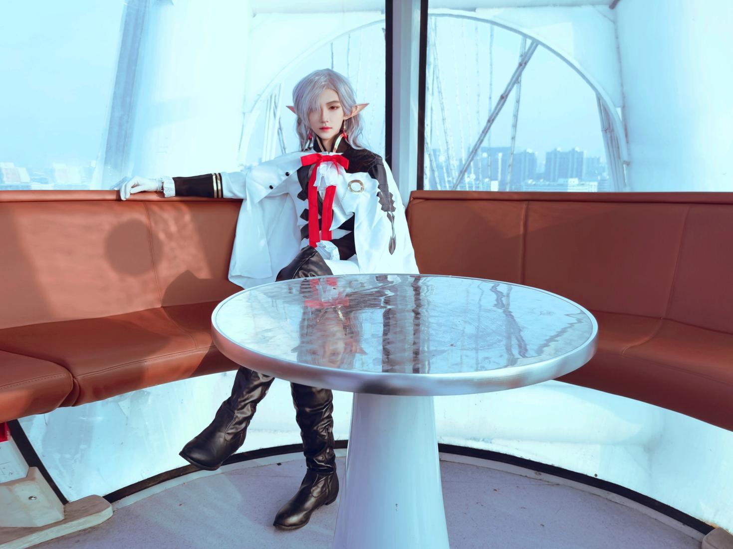 《终结的炽天使》终结的炽天使费娘cosplay【CN:君莫笑笑笑笑笑啊】-第3张
