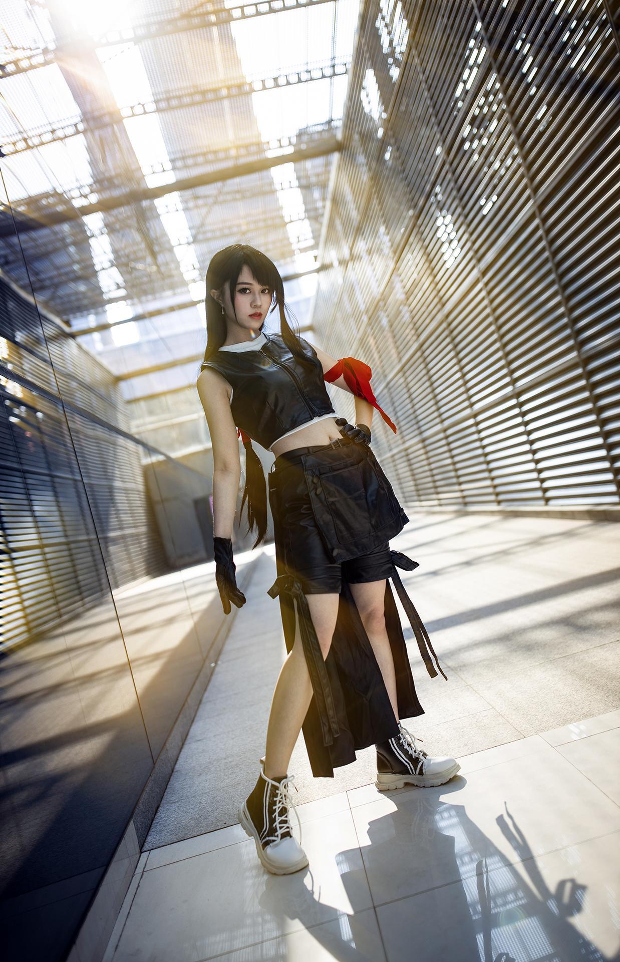 《最终幻想》最终幻想蒂法cosplay【CN:Suweit】-第1张