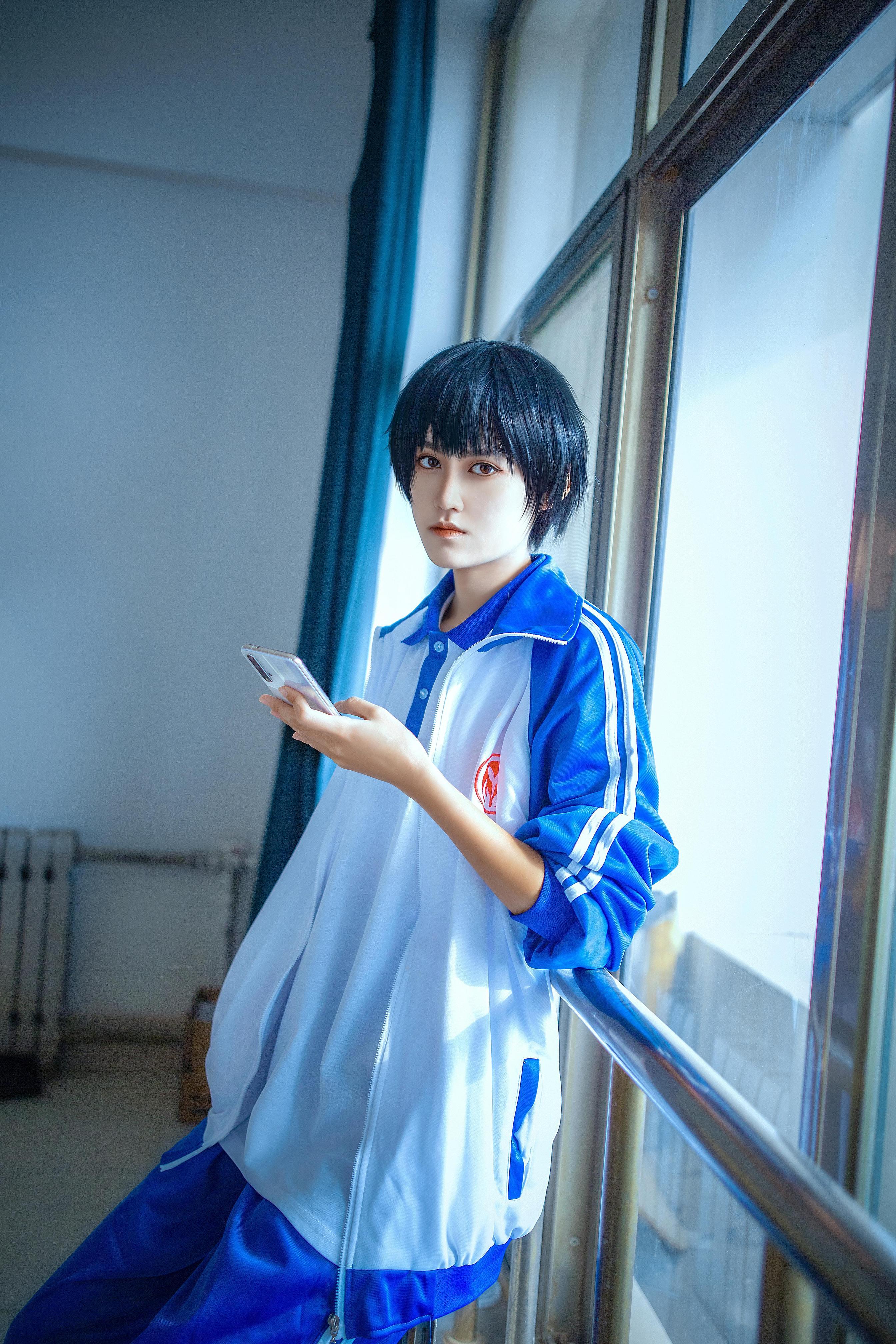 《伪装学渣》正片cosplay【CN:古童童童】-第4张