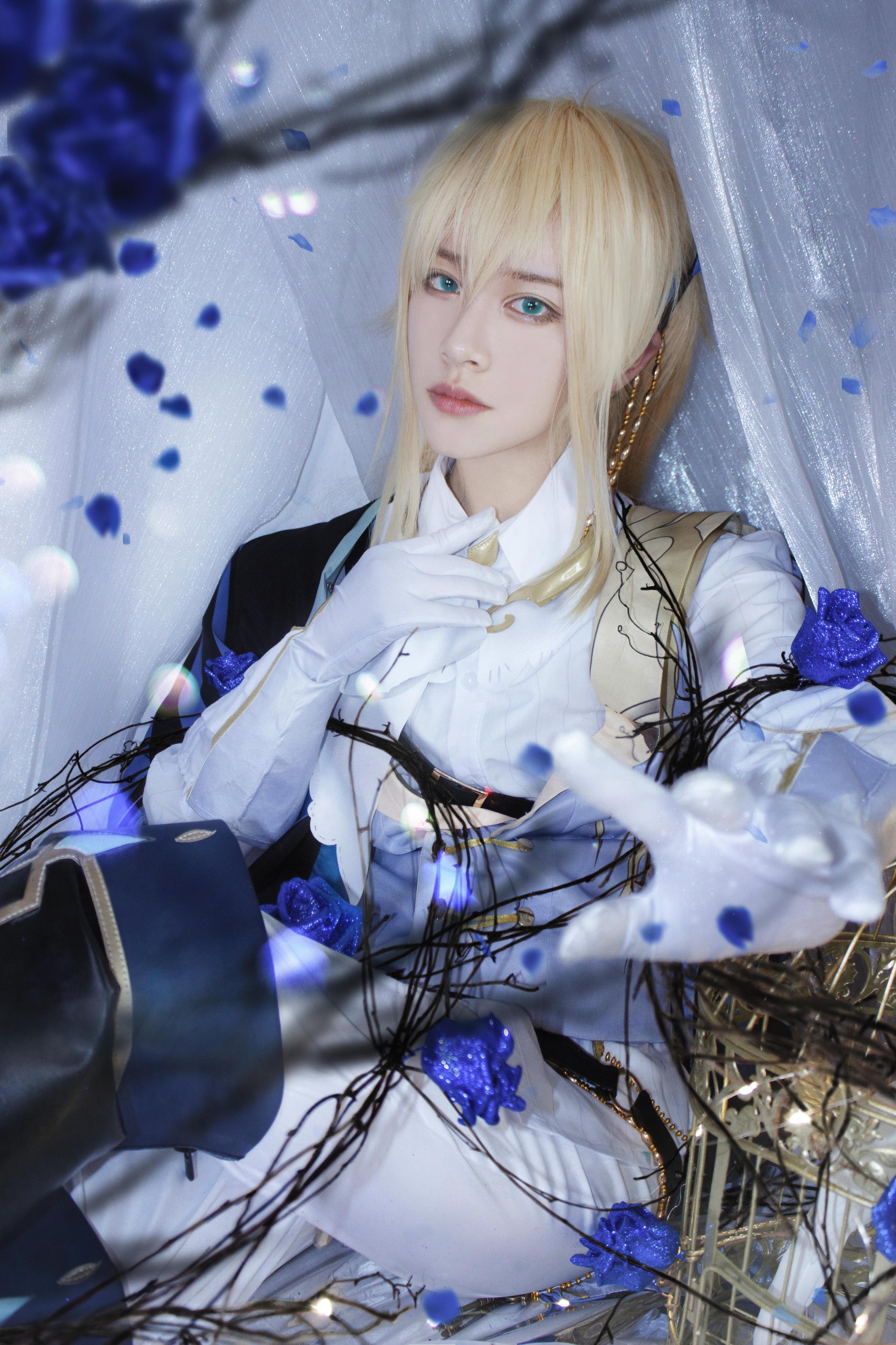 《时空中的绘旅人》游戏cosplay【CN:琴凰】-第1张