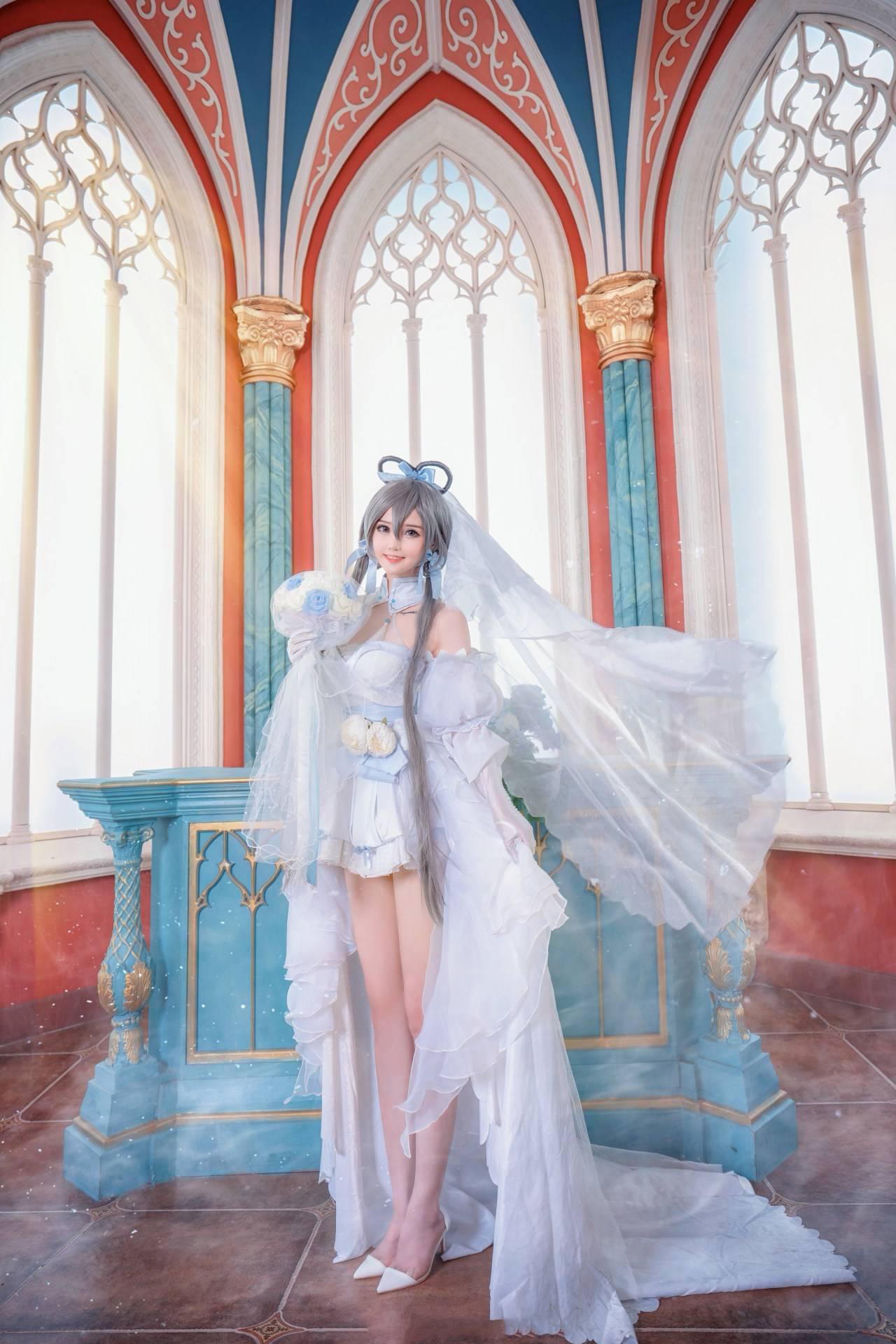 《VOCALOID》洛天依花嫁Cosplay【CN:露儿大魔王_】 (8P)-第7张