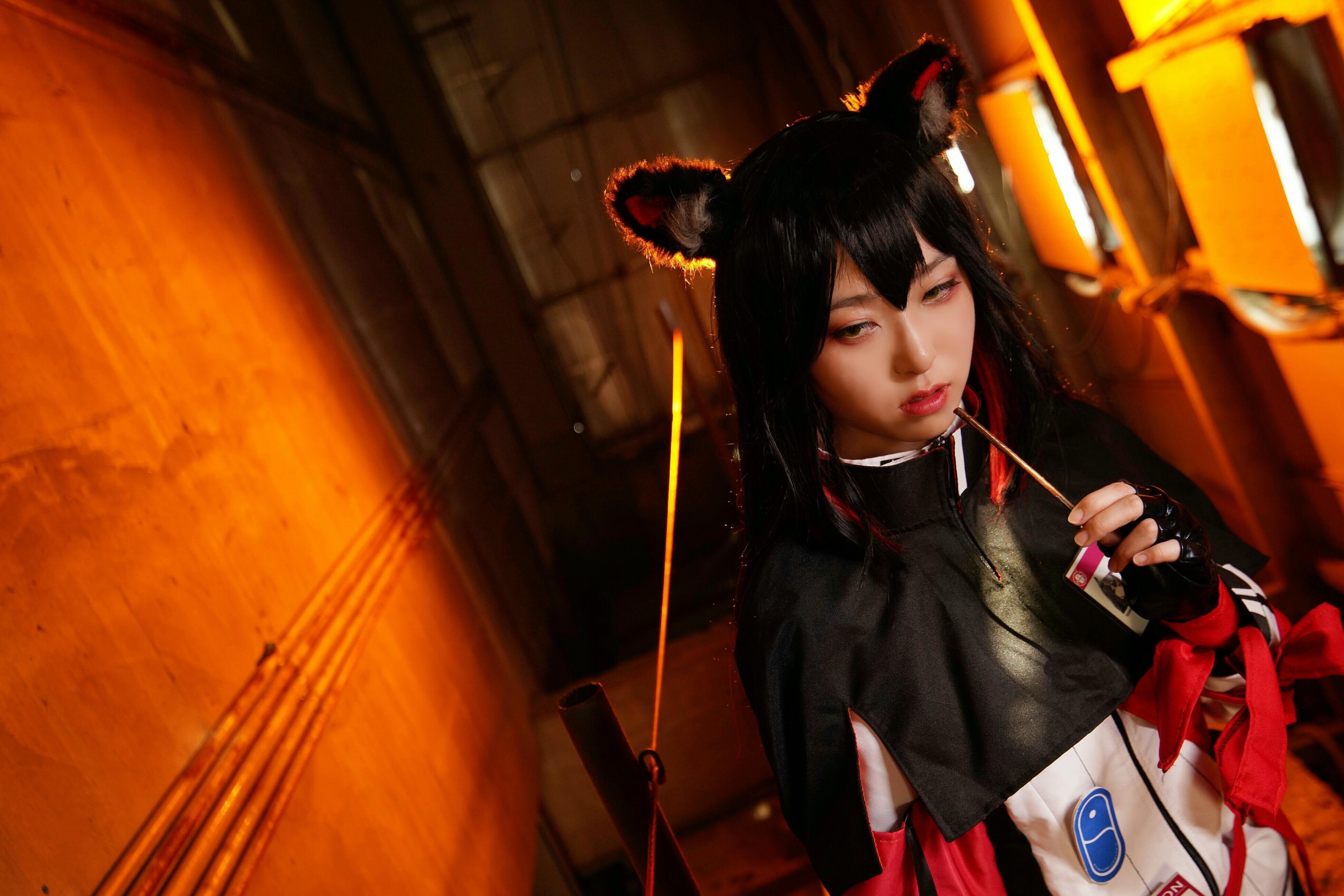 《明日方舟》明日方舟德克萨斯cosplay【CN:YINGO殷果】-第9张