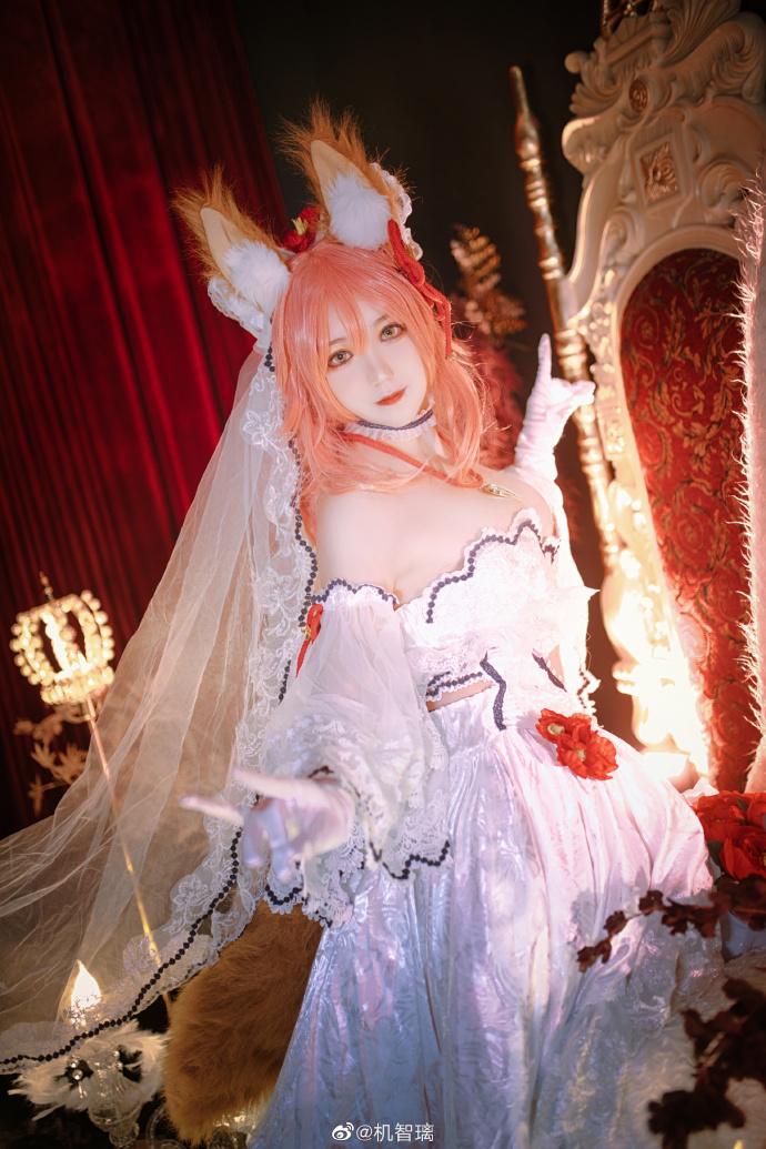 Fate/GrandOrder   玉藻前   同人花嫁   @机智璃 (9P)-第1张