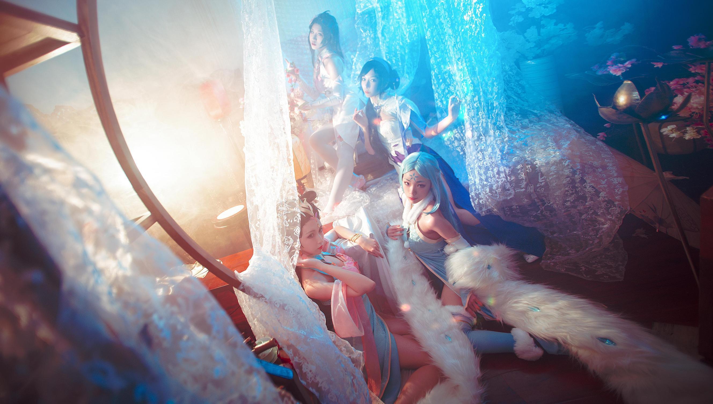 《王者荣耀》旗袍cosplay【CN:阿芷今天光合作用了吗】-第6张