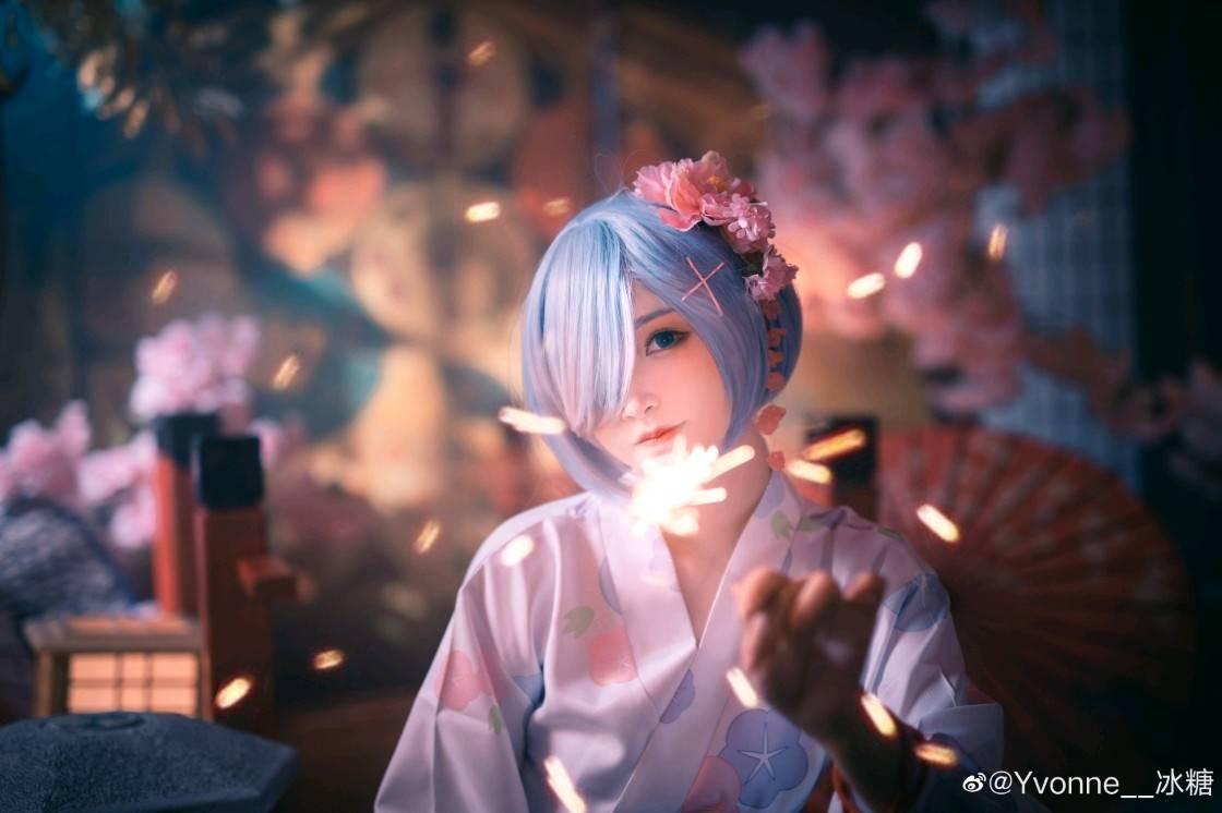 《Re:从零开始的异世界生活》蕾姆COS图【CN:Yvonne__冰糖】 (9P)-第2张