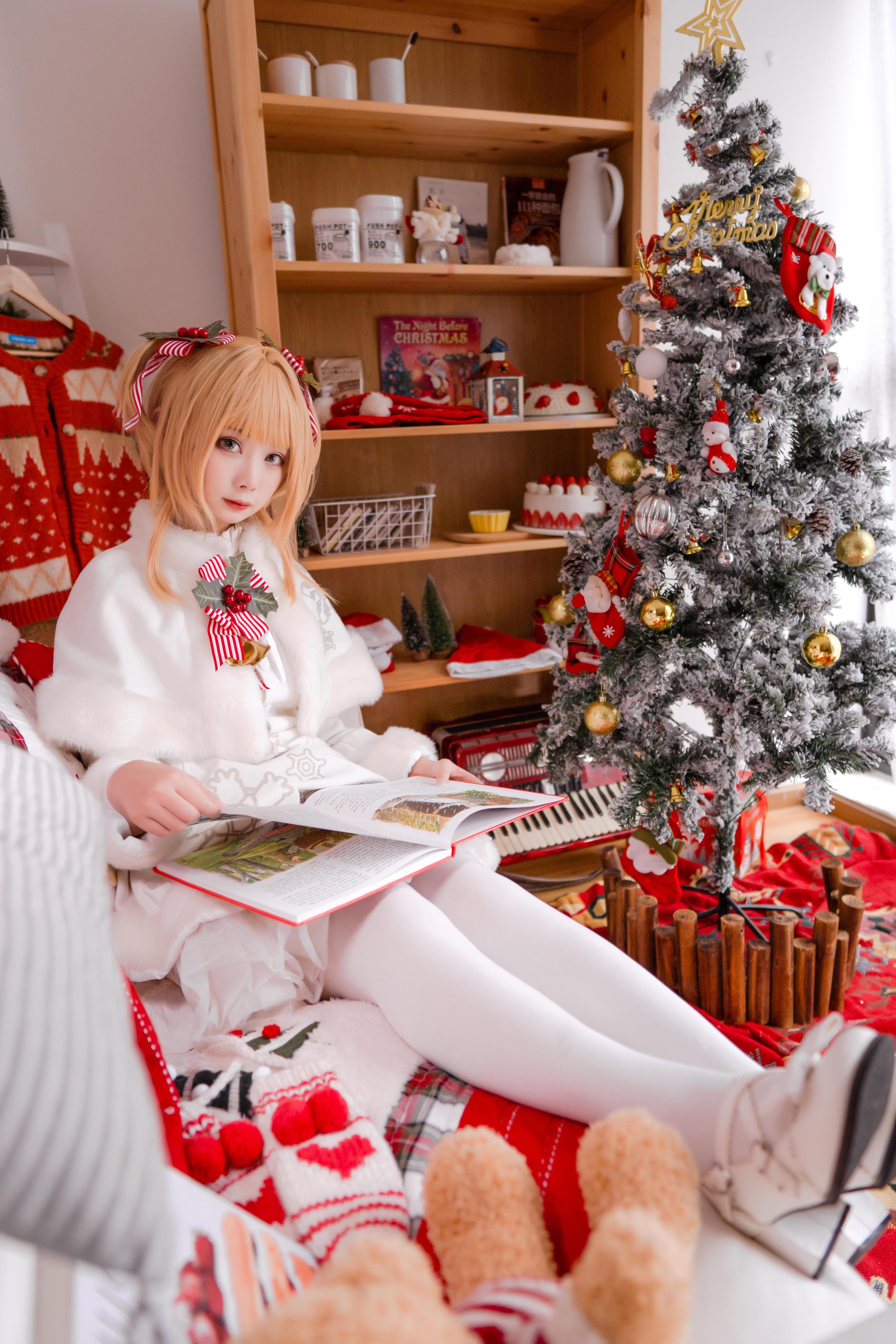 《魔卡少女樱》圣诞cosplay【CN:一X夏天X一】-第7张