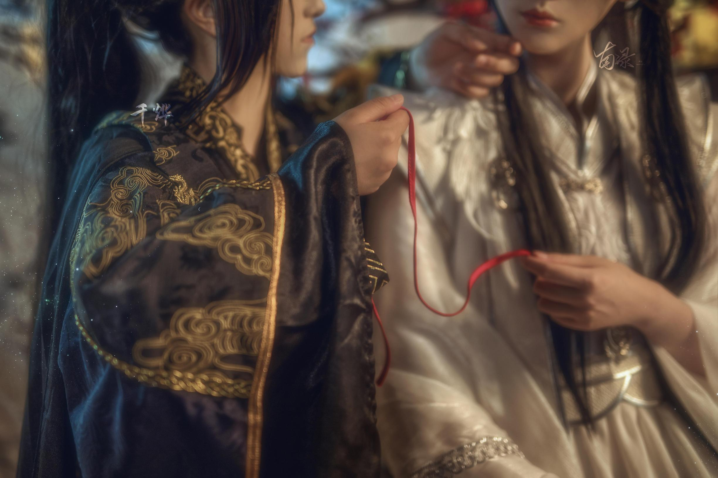 《二哈和他的白猫师尊》正片cosplay【CN:南渌Lin】-第4张