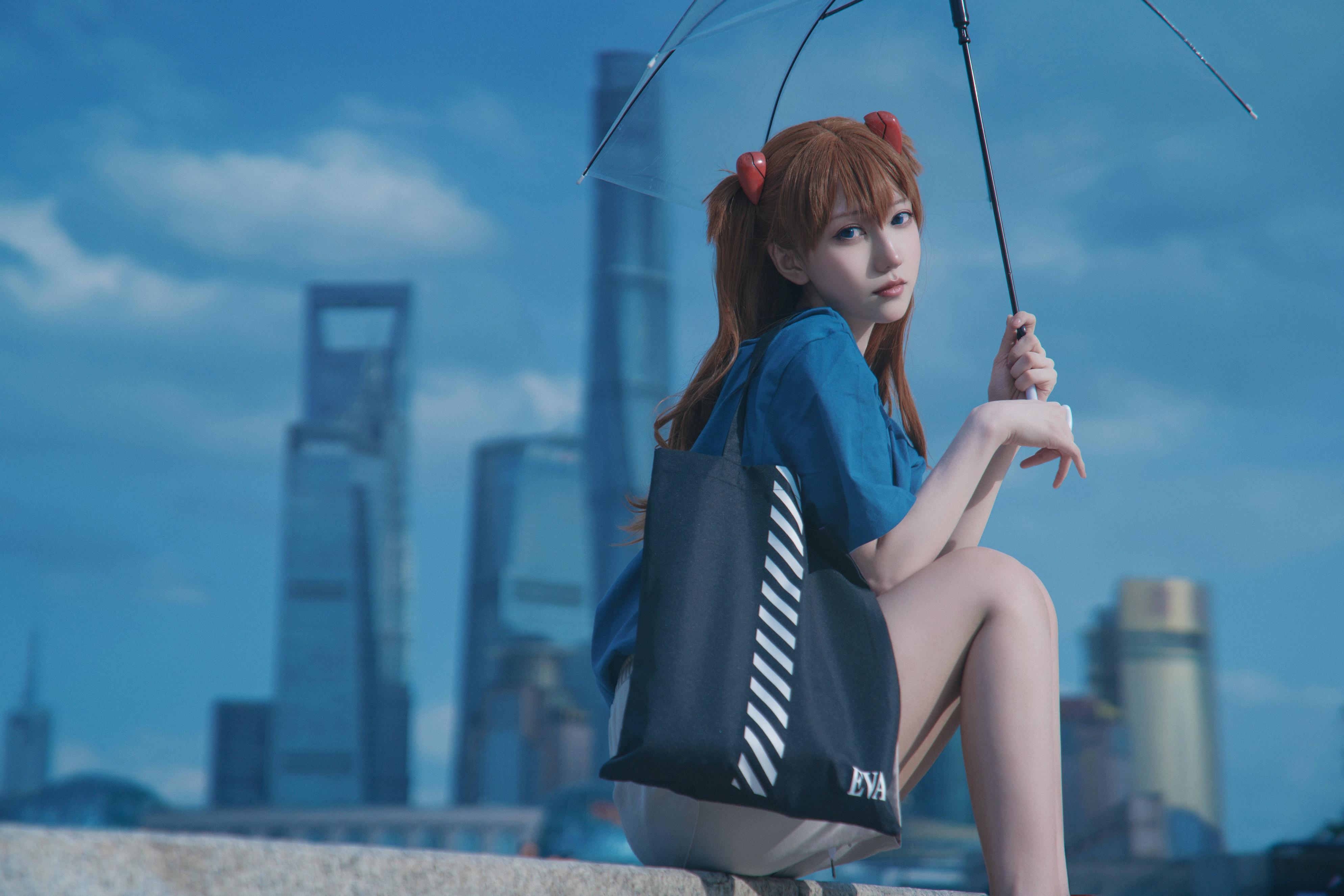 《新世纪福音战士》明日香cosplay【CN:阿凡usagi】-第1张