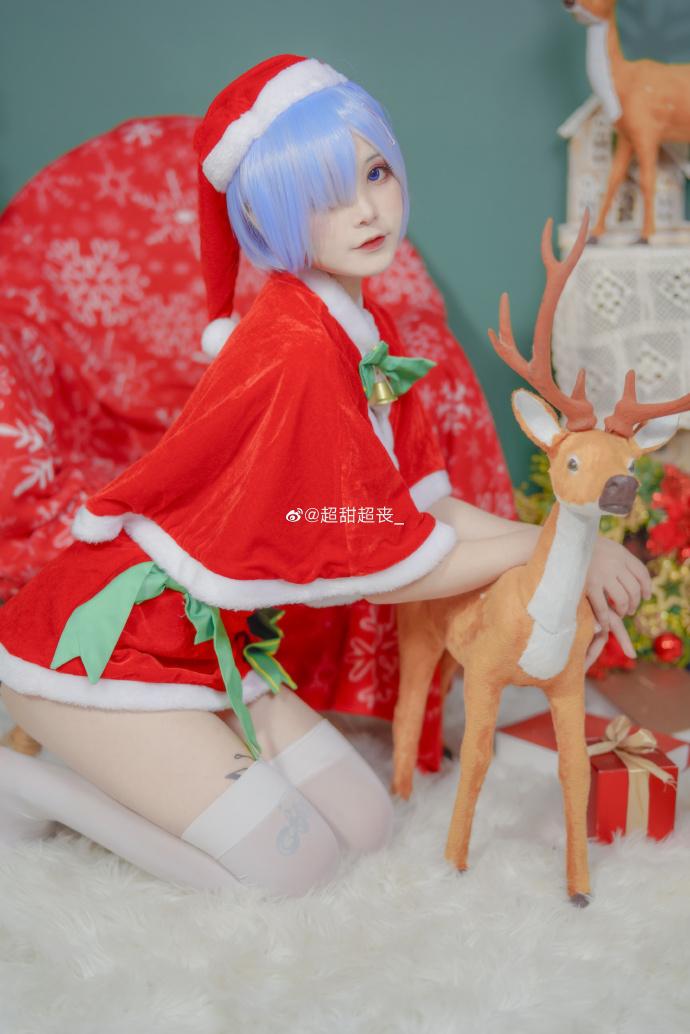 Re:从零开始的异世界生活   蕾姆   圣诞快乐   @超甜超丧_ (9P)-第8张