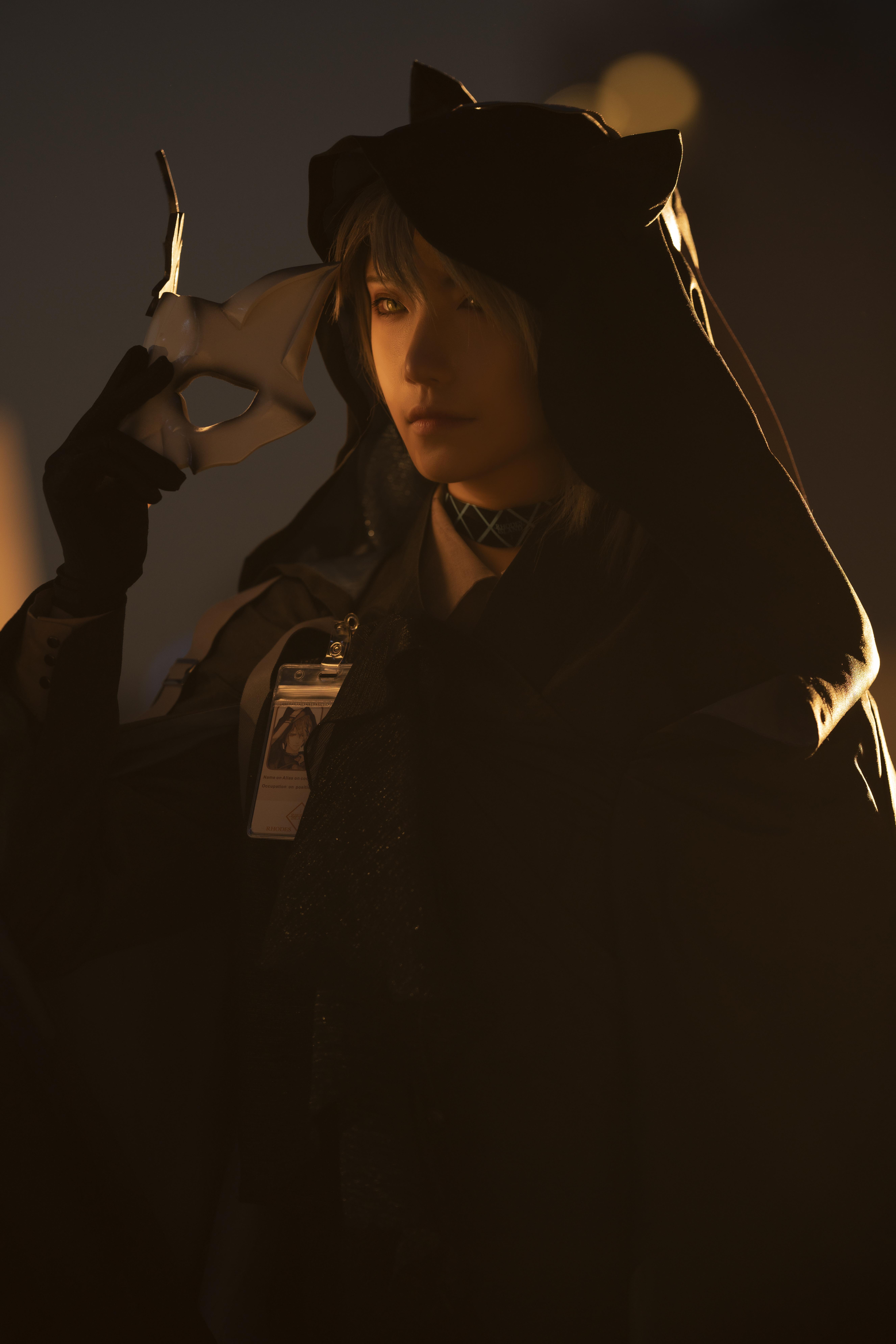 《明日方舟》正片cosplay【CN:斯诺_Yukina】-第1张