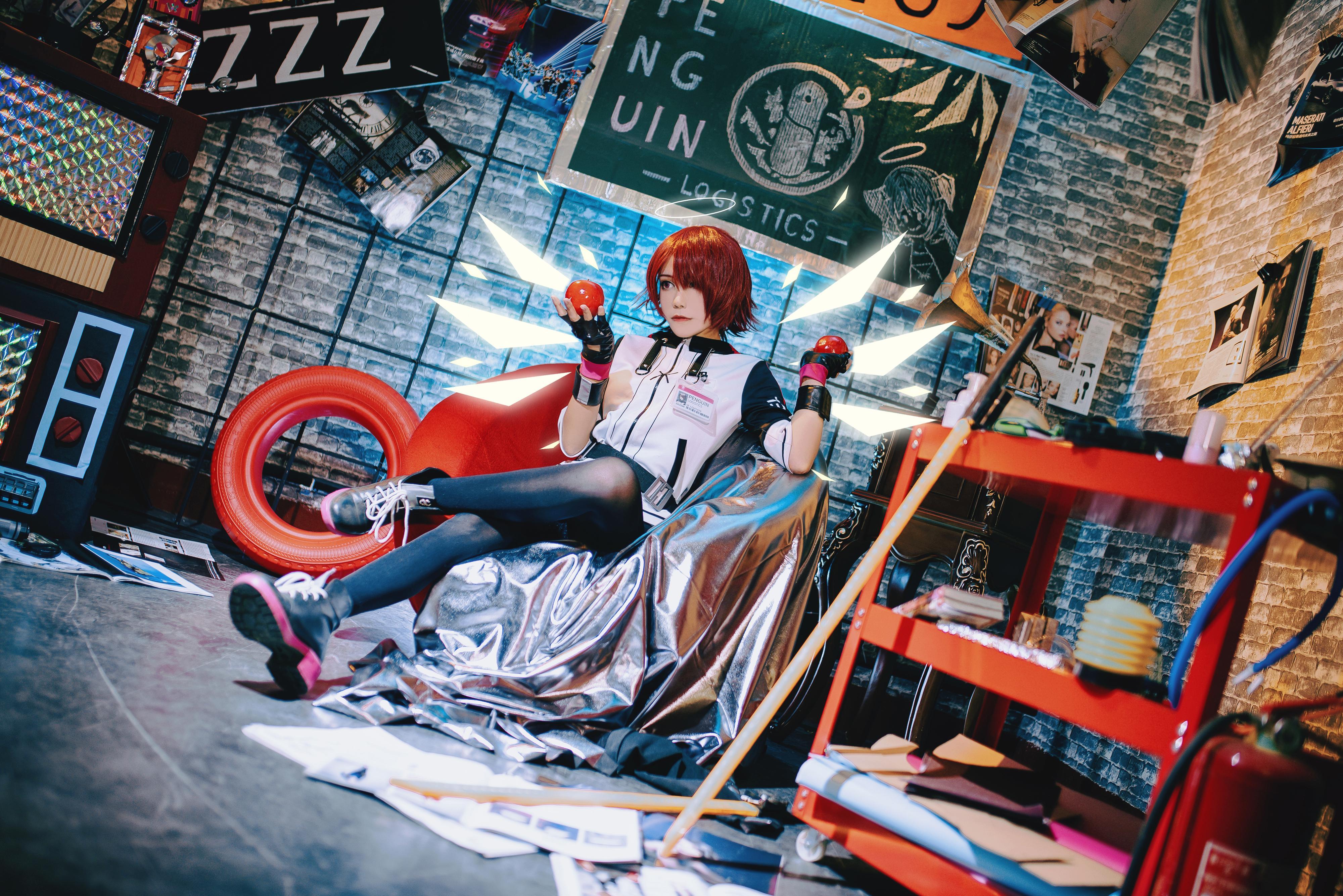 《明日方舟》正片cosplay【CN:鲁丝兔】-第9张