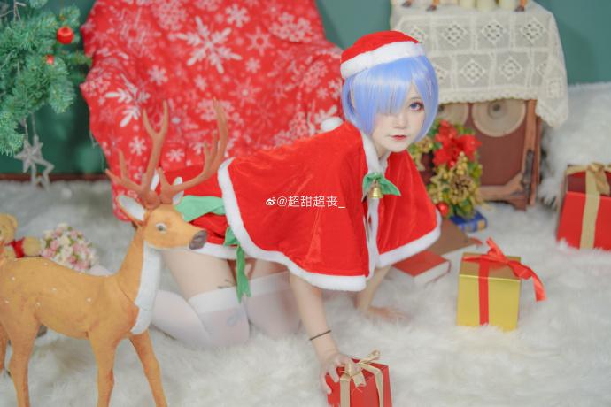 Re:从零开始的异世界生活   蕾姆   圣诞快乐   @超甜超丧_ (9P)-第5张