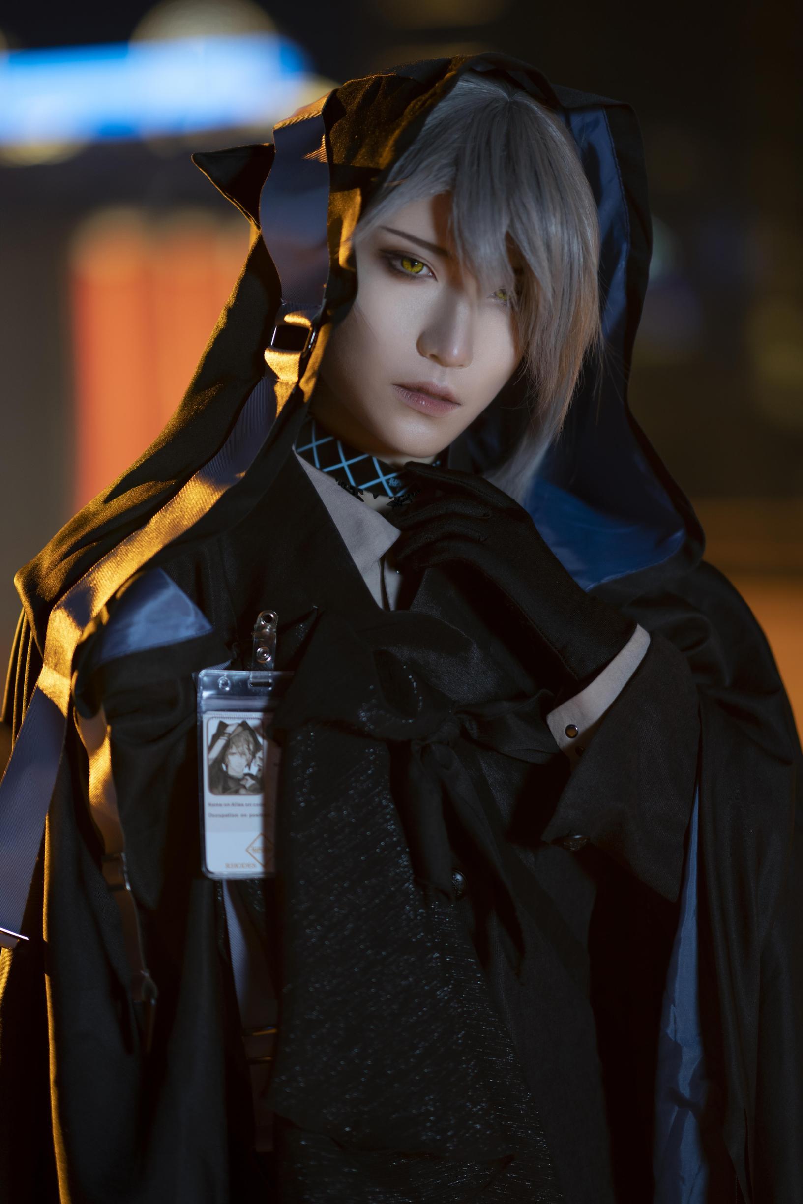 《明日方舟》正片cosplay【CN:斯诺_Yukina】-第28张