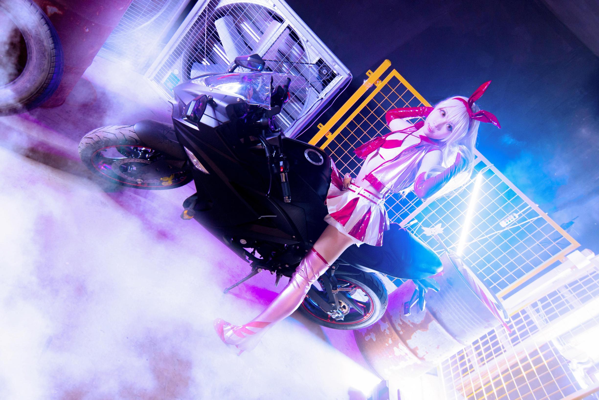 《FATE/GRAND ORDER》赛车娘cosplay【CN:梦梦100织】-第3张
