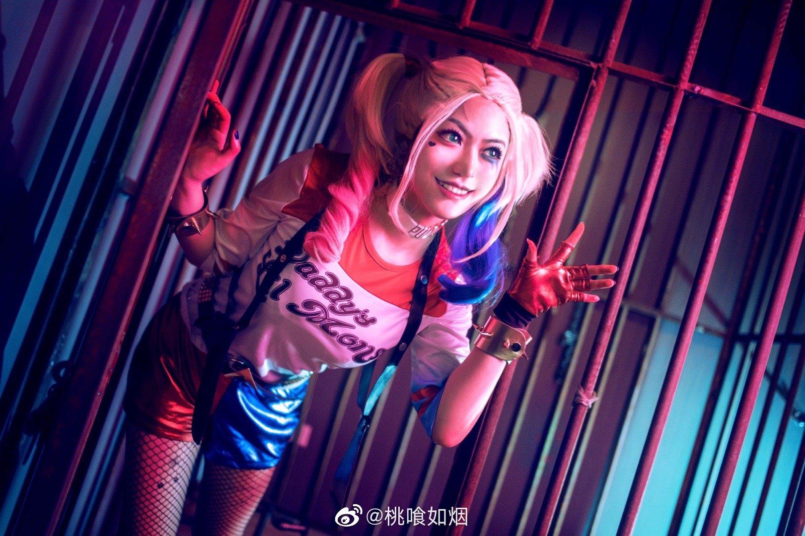 自杀小队小丑女哈莉奎茵   @桃喰如烟 (9P)-第2张