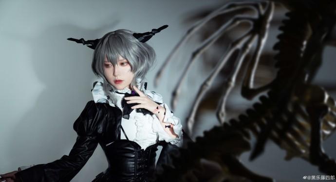 明日方舟   塔露拉 -【 Dragon Lady】-   @黑乐藤四郎 (9P)-第6张