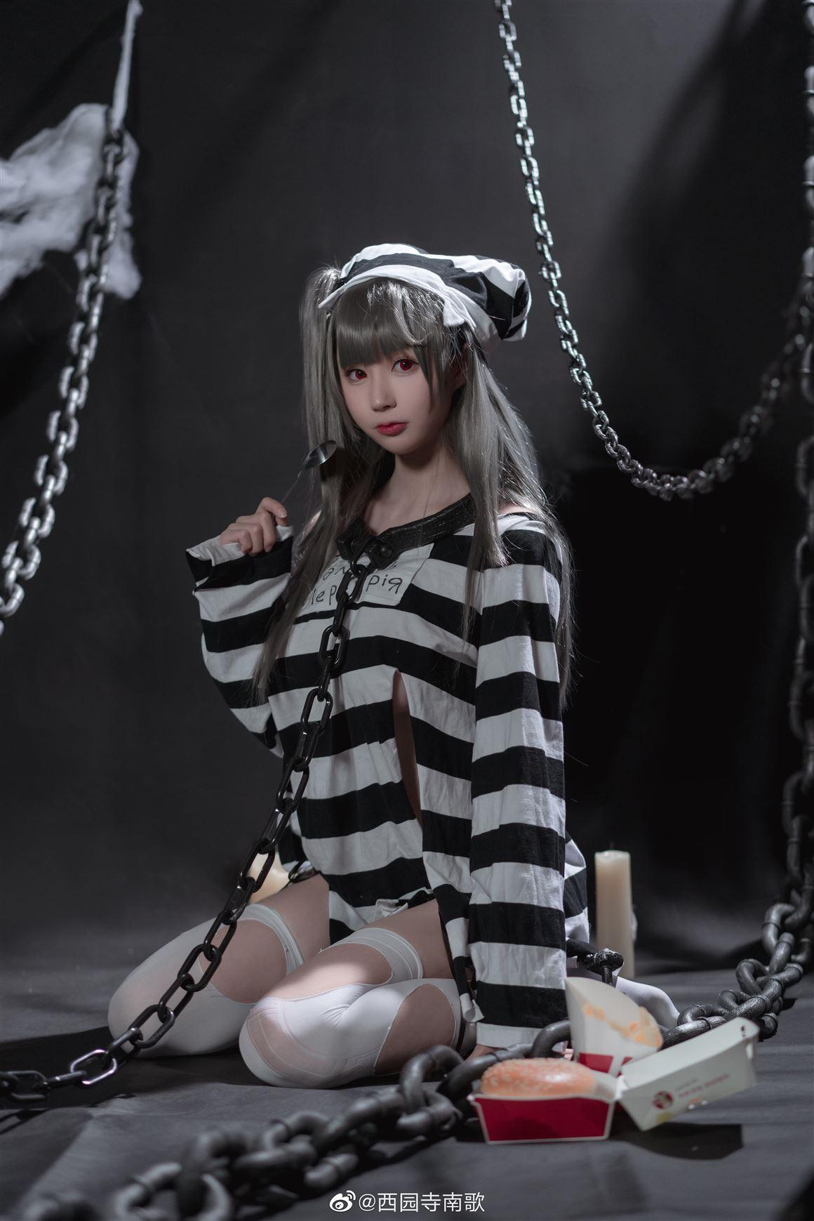 《碧蓝航线》水星纪念之牢狱与诱惑Cosplay【CN:西园寺南歌】 (9P)-第5张