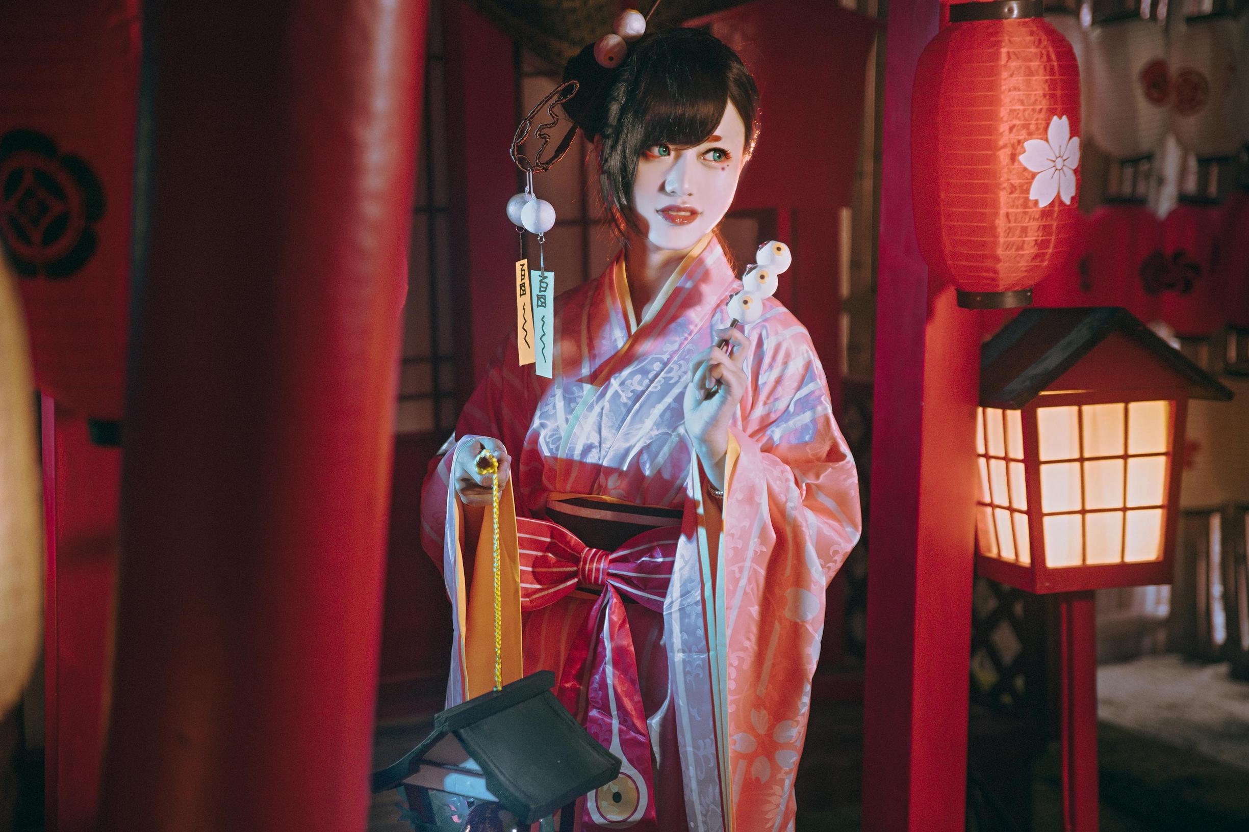 《阴阳师手游》网易阴阳师cosplay【CN:卿绾歌】-第4张