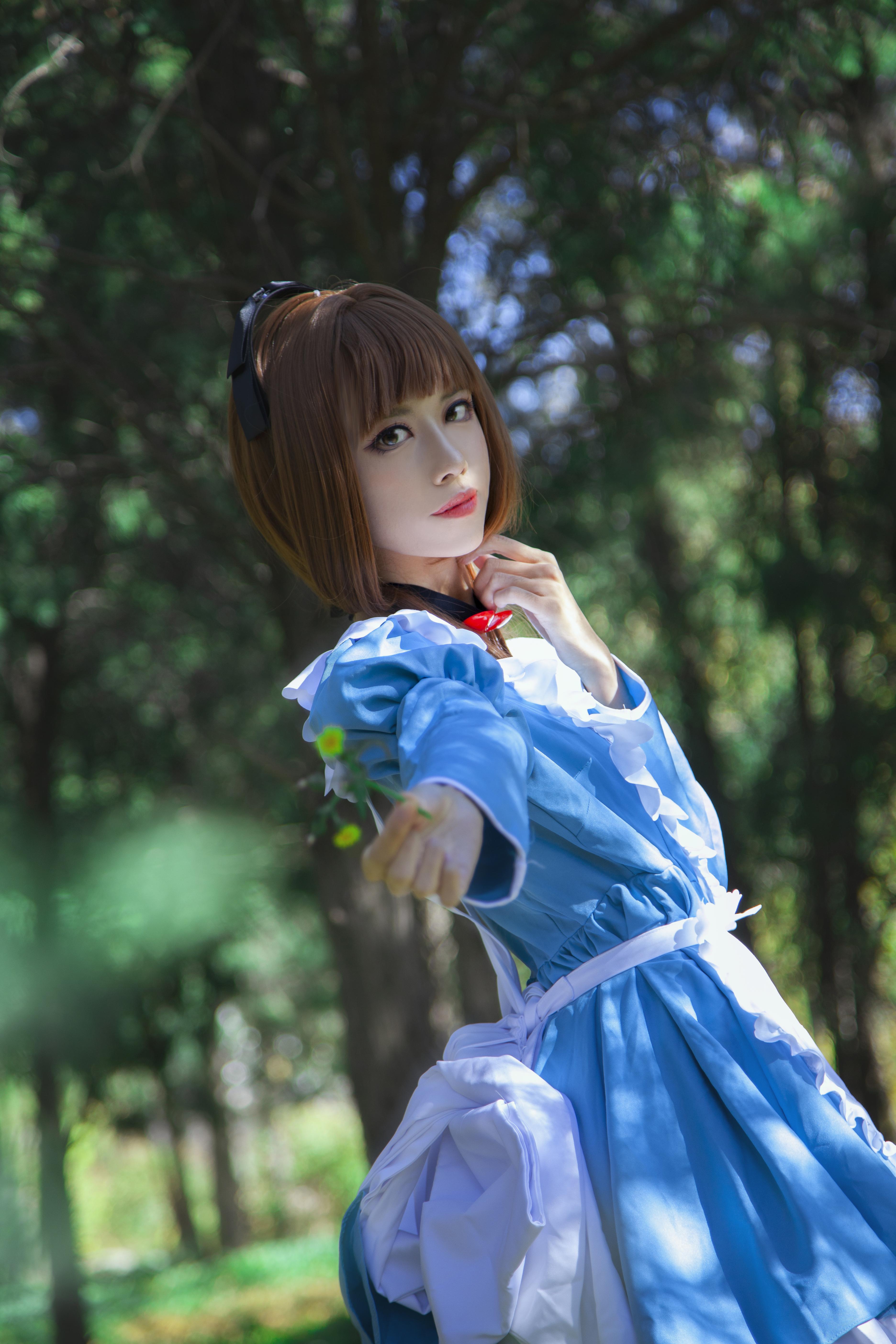 《魔卡少女樱》正片cosplay【CN:Coser_米饭】-第6张