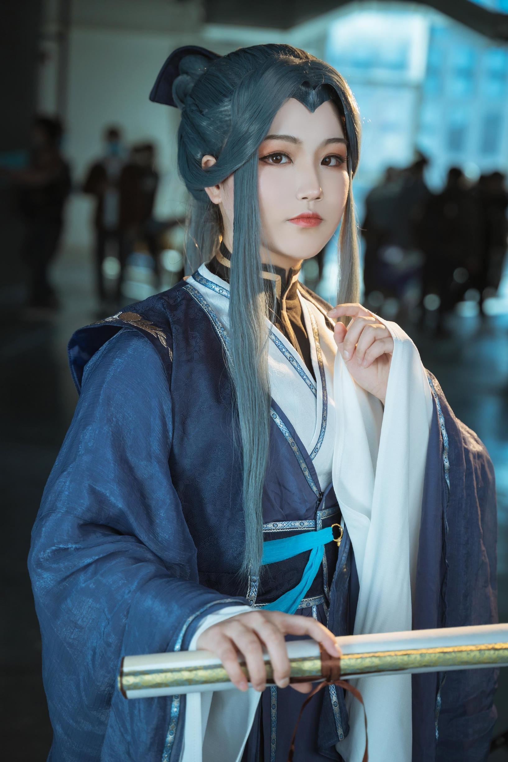 《天官赐福》墨香铜臭cosplay【CN:Yimo沫】-第1张