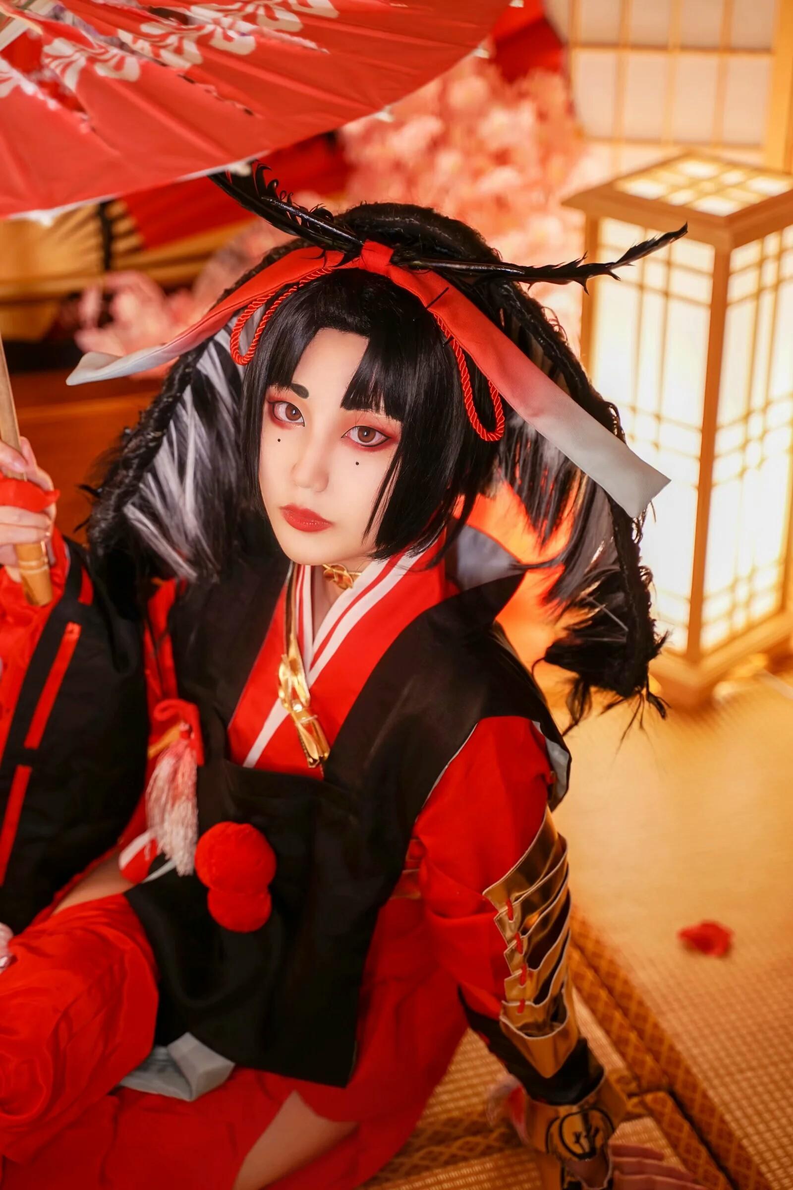 《刀剑乱舞》小乌丸cosplay【CN:妄_言】-第1张