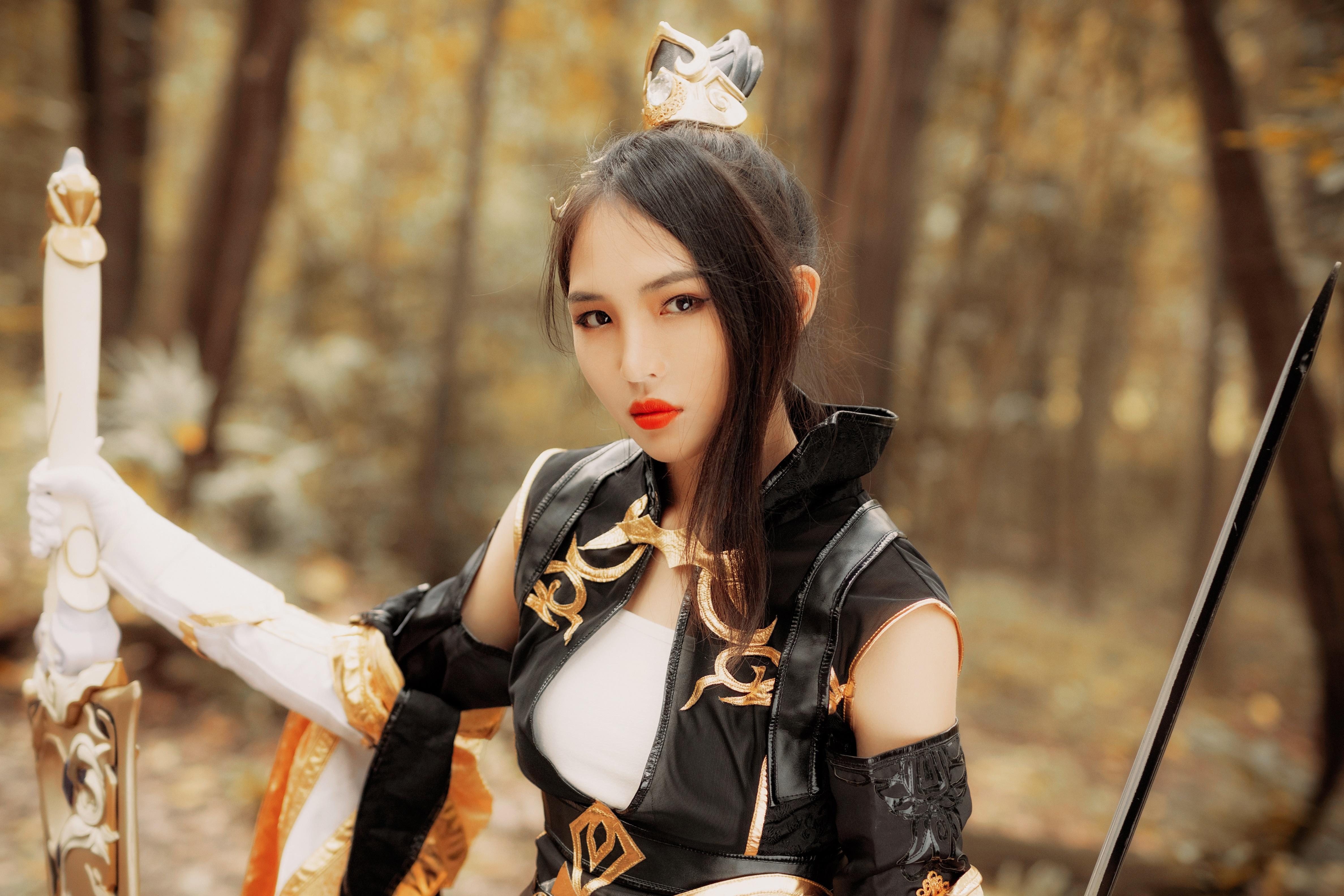 《剑侠情缘网络版叁》御姐cosplay【CN:Sy_郭以寒】-第11张