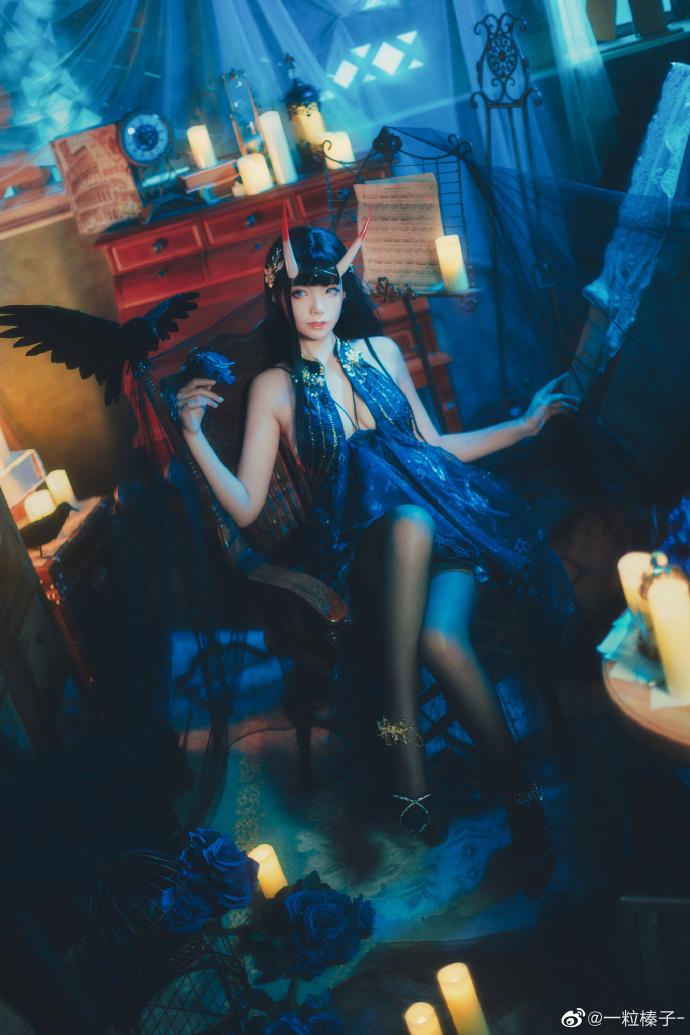 碧蓝航线   能代  礼服-夜响的绝园   @一粒榛子- (9P)-第4张