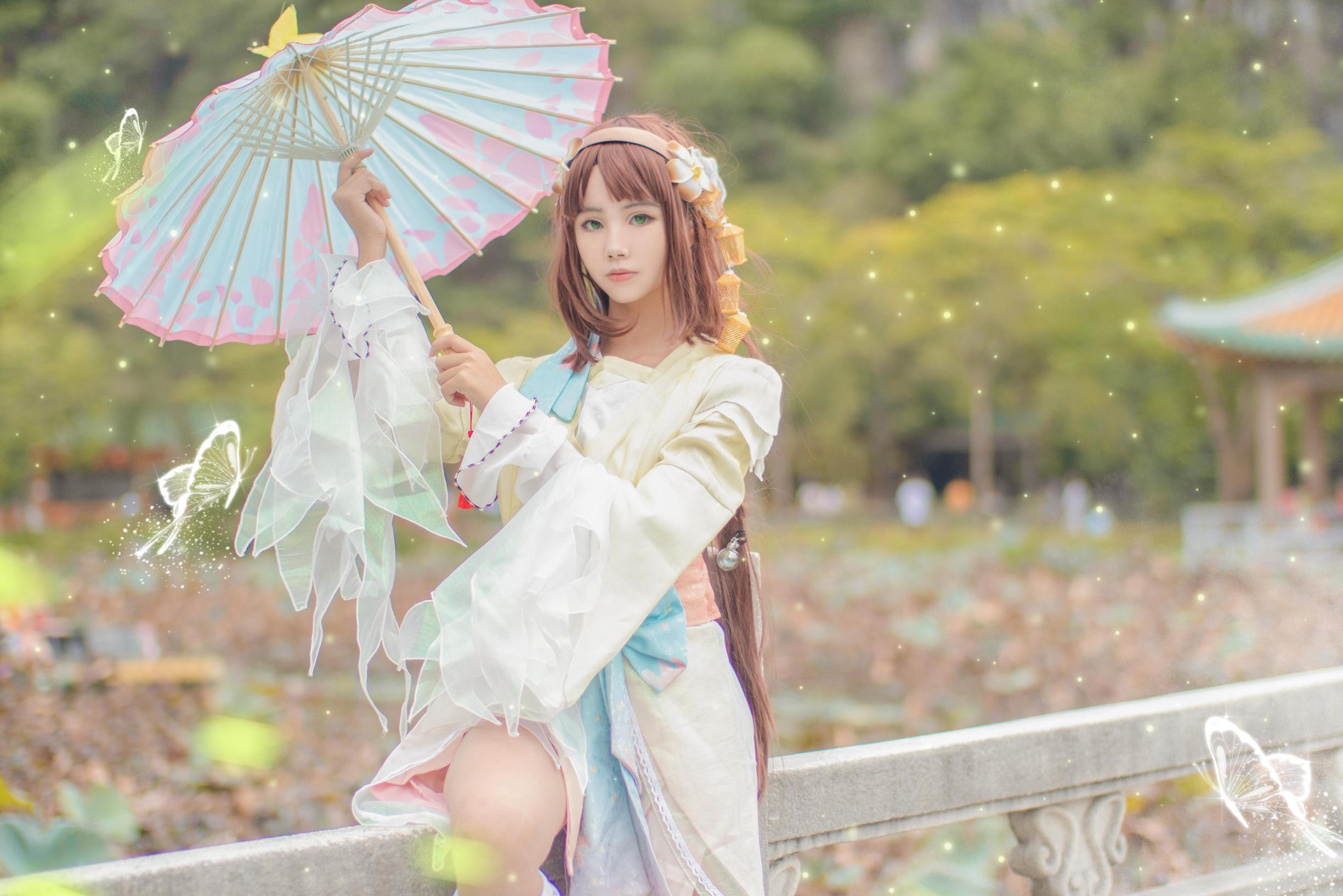 《王者荣耀》正片cosplay【CN:夜玖wine】-第3张