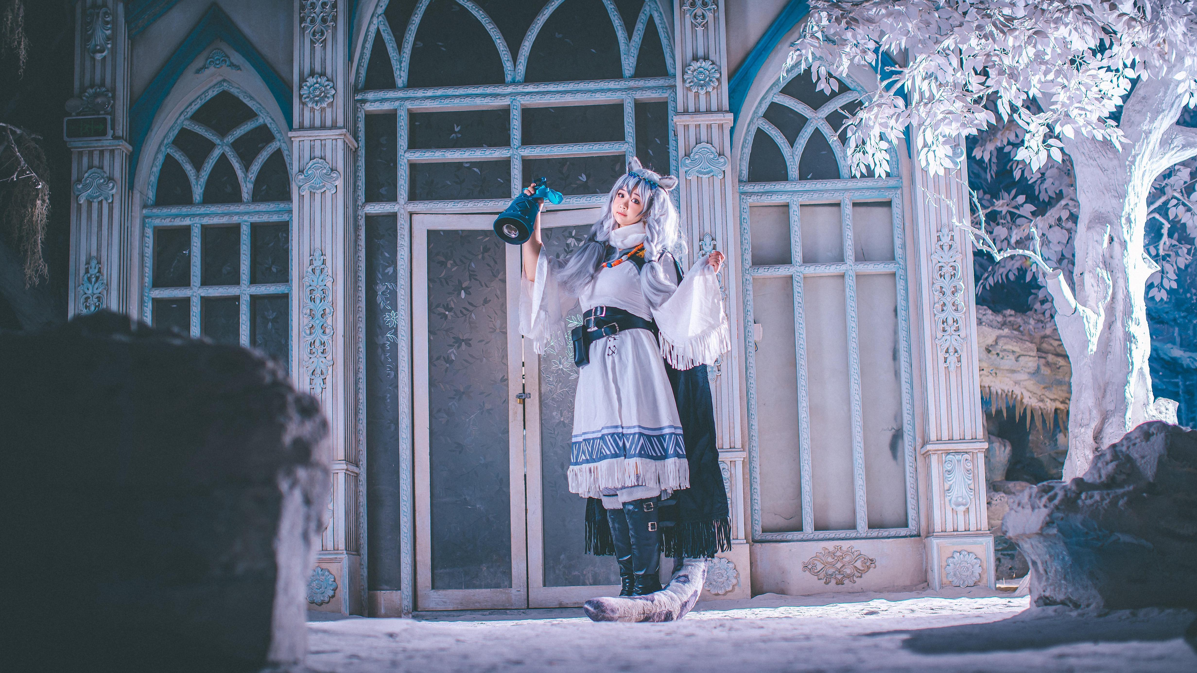 《明日方舟》明日方舟初雪cosplay【CN:爱鲤苏CHAOS】-第15张
