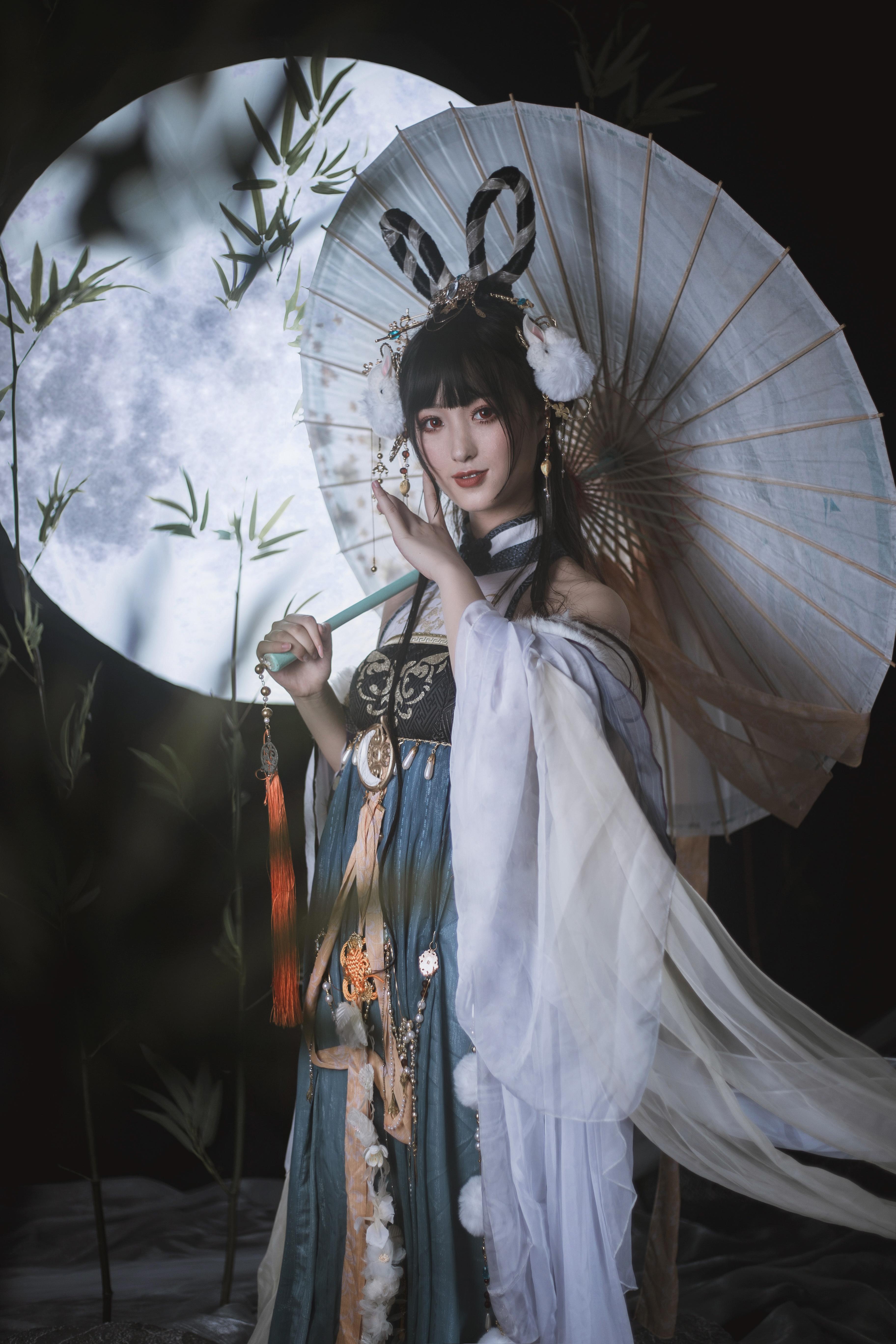 《奇迹暖暖》古风cosplay【CN:魔光海韵】-第6张