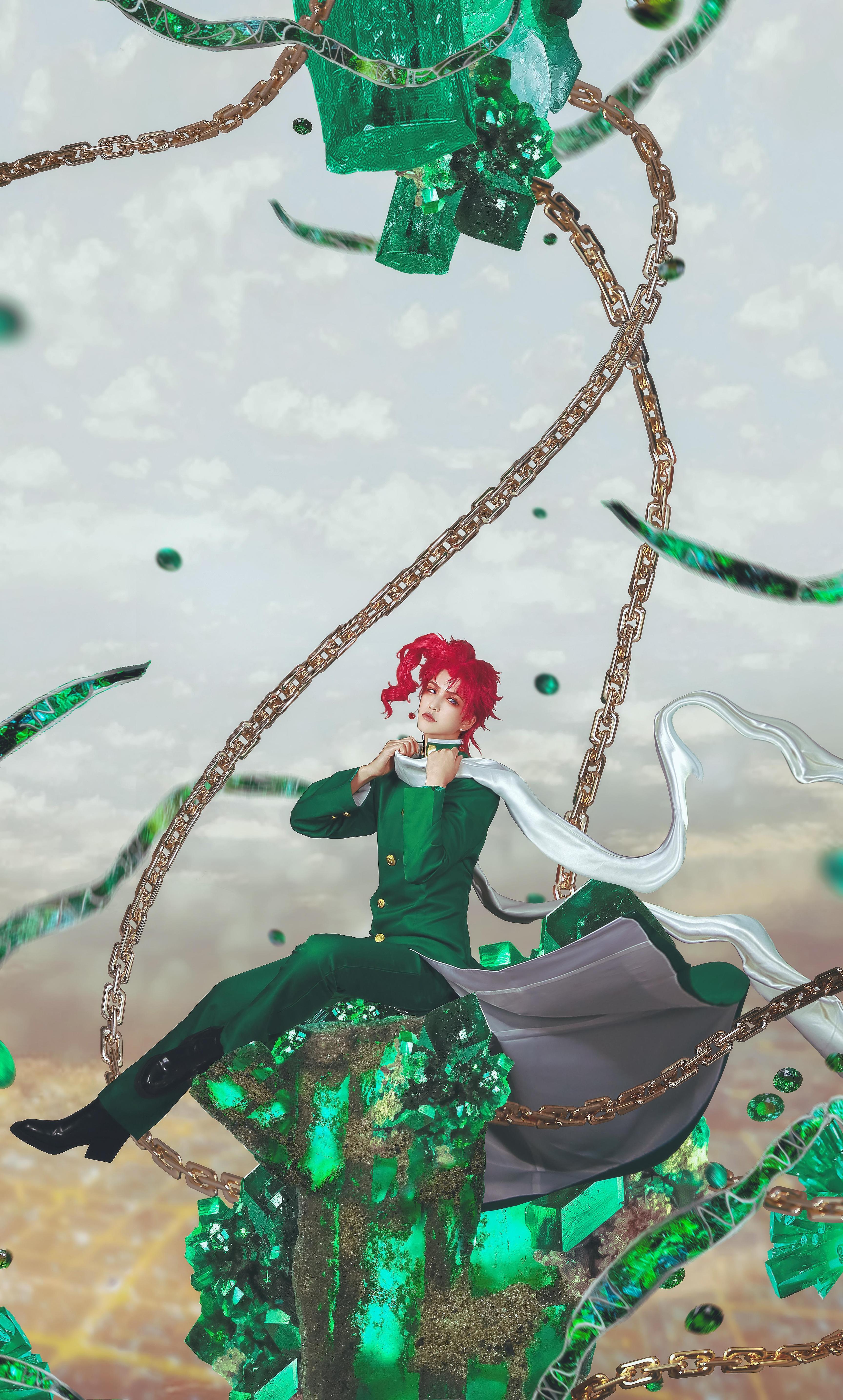 《JOJO的奇妙冒险》花京院典明cosplay【CN:一矢_Ichiya】-第5张