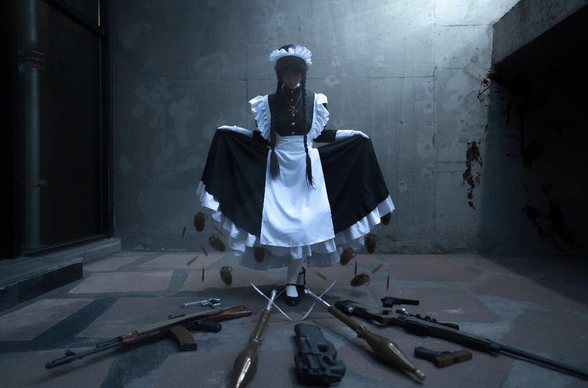 《黑礁》女仆cosplay【CN:纪沫2333】-第3张