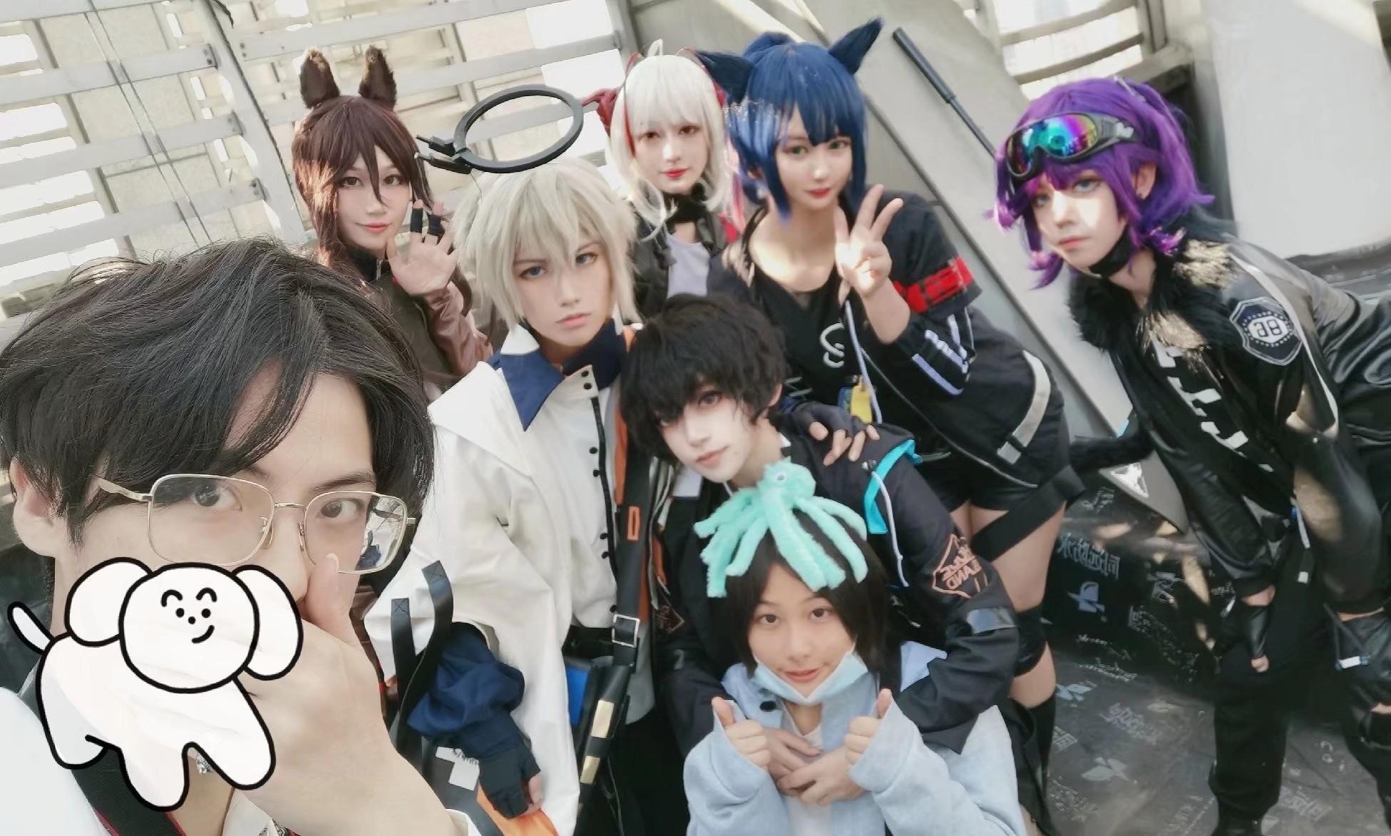 《明日方舟》表情包cosplay【CN:令和废物飘大炮】-第3张